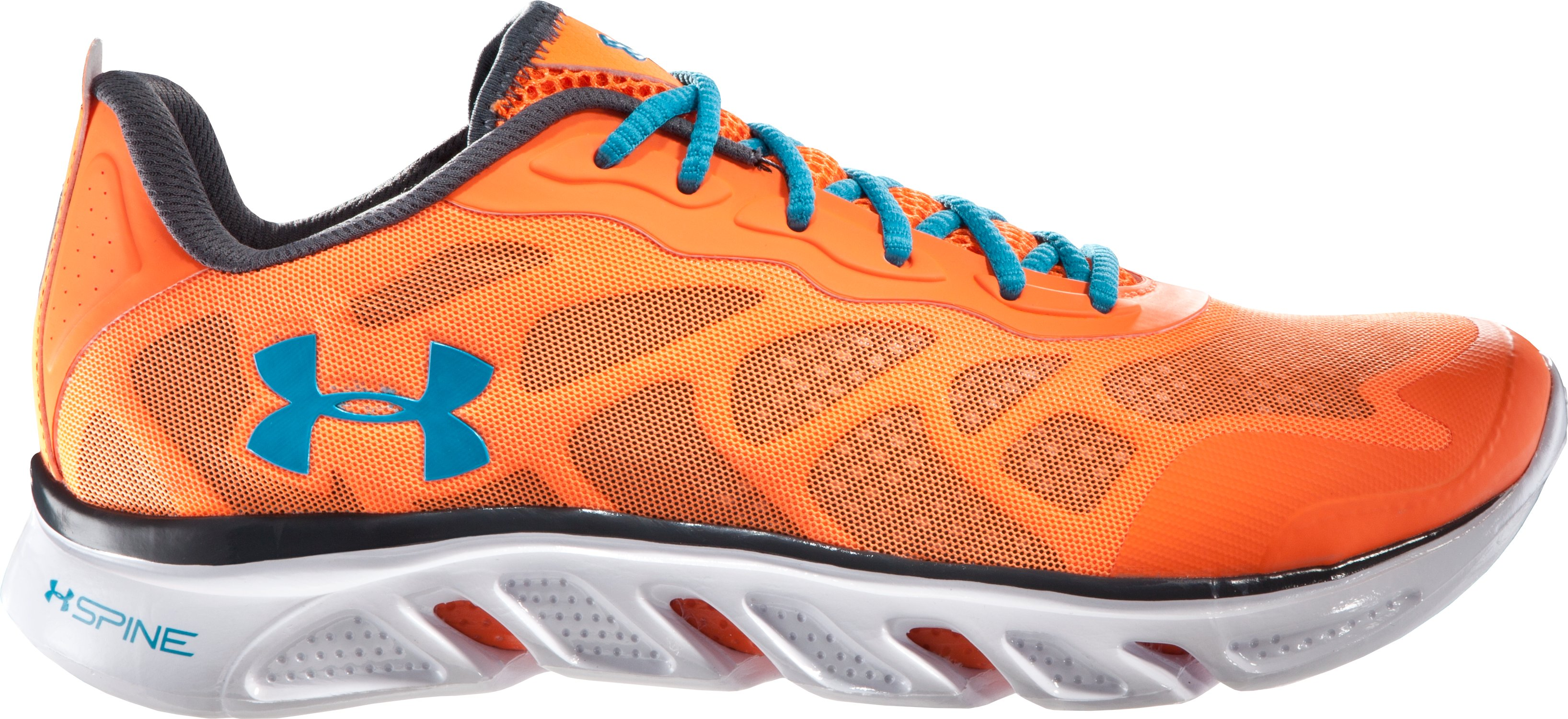 Men's UA Spine™ Venom Running Shoes, Blaze Orange, zoomed image