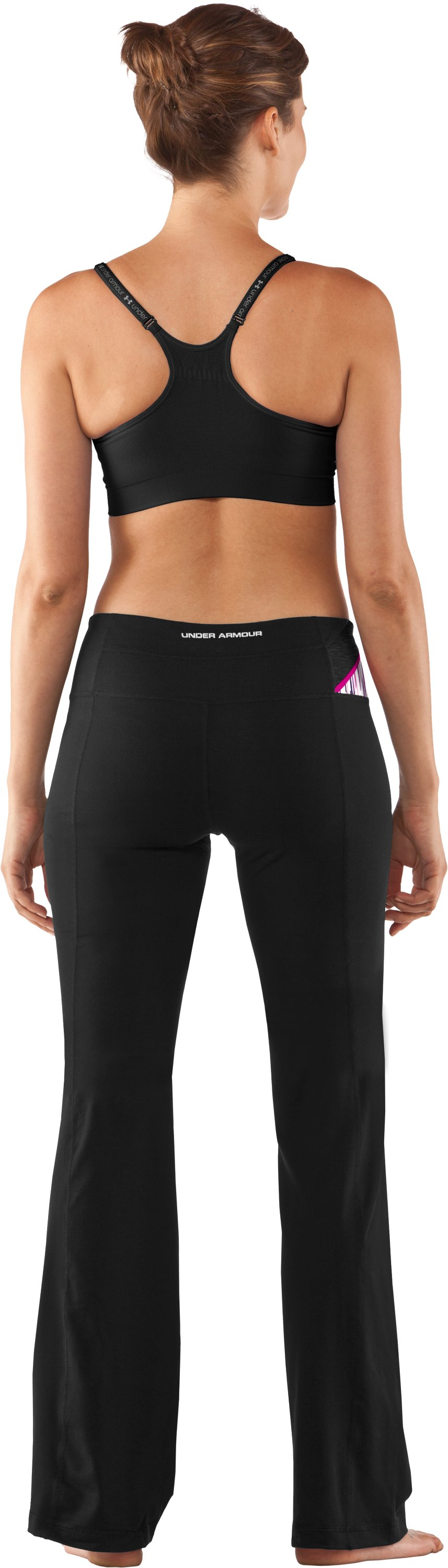 Women's UA Perfect Shape Pant, Black , Back