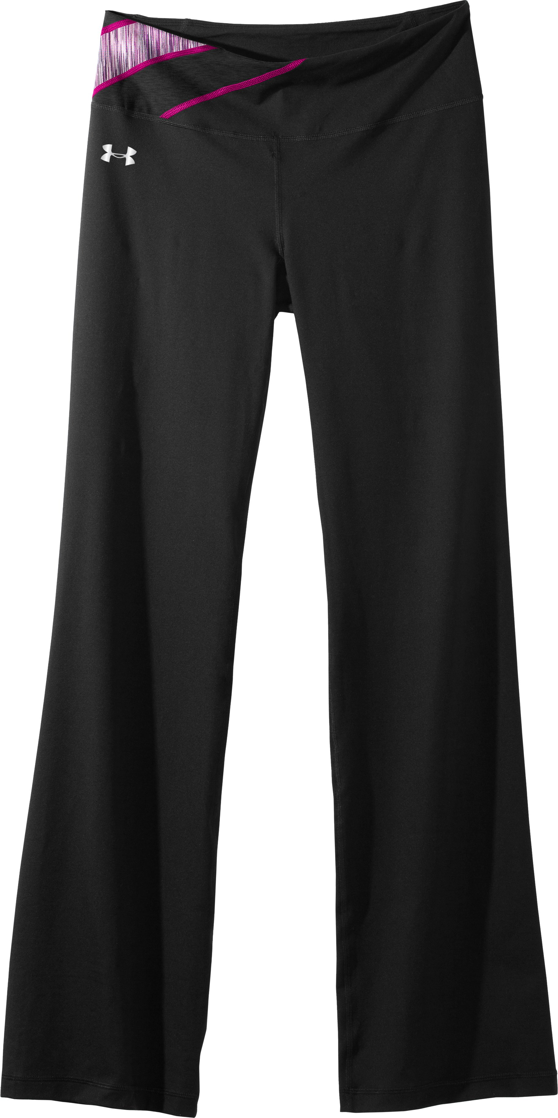 Women's UA Perfect Shape Pant, Black , Laydown