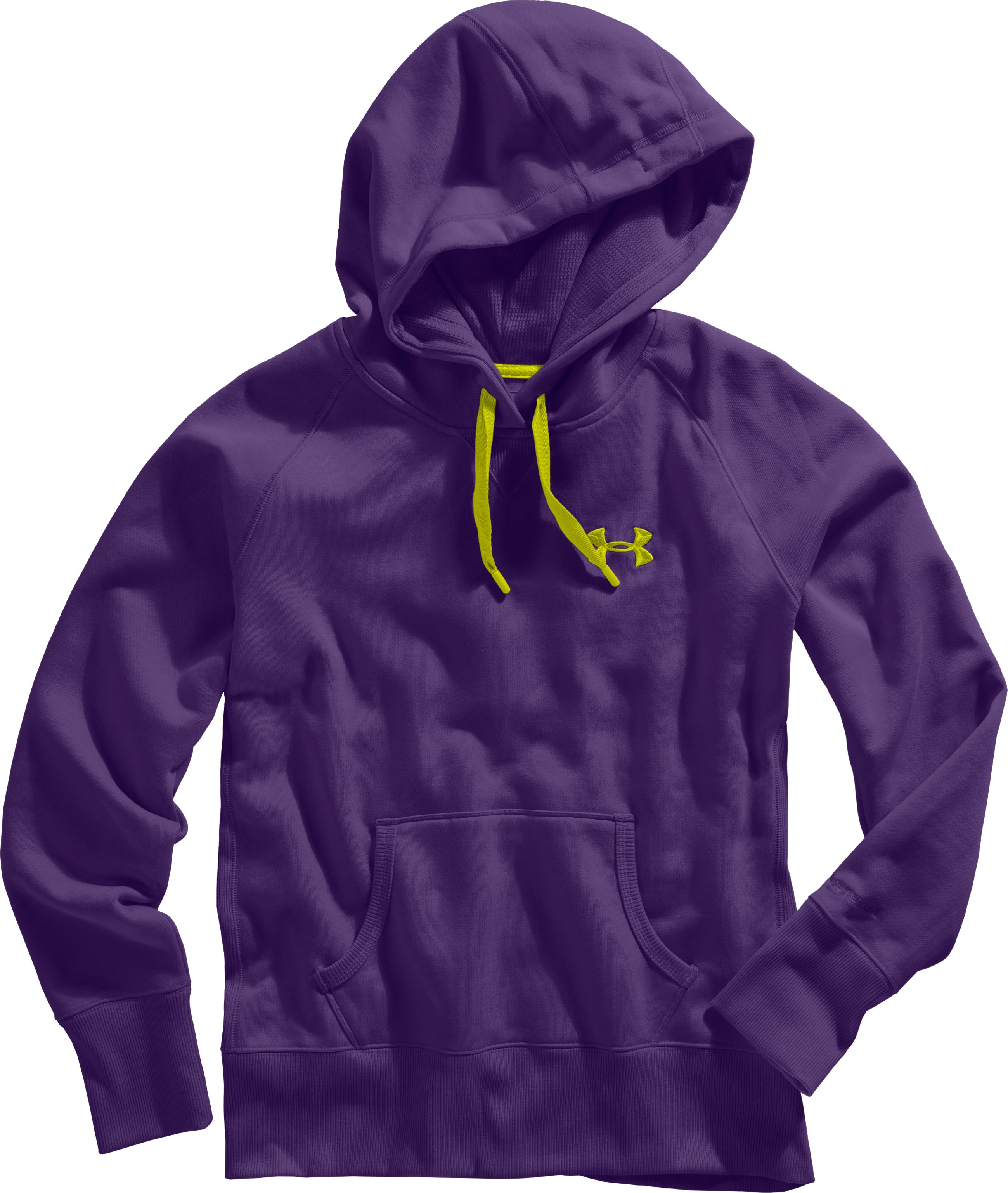 Women's Charged Cotton® Storm Hoodie, Zone, Laydown