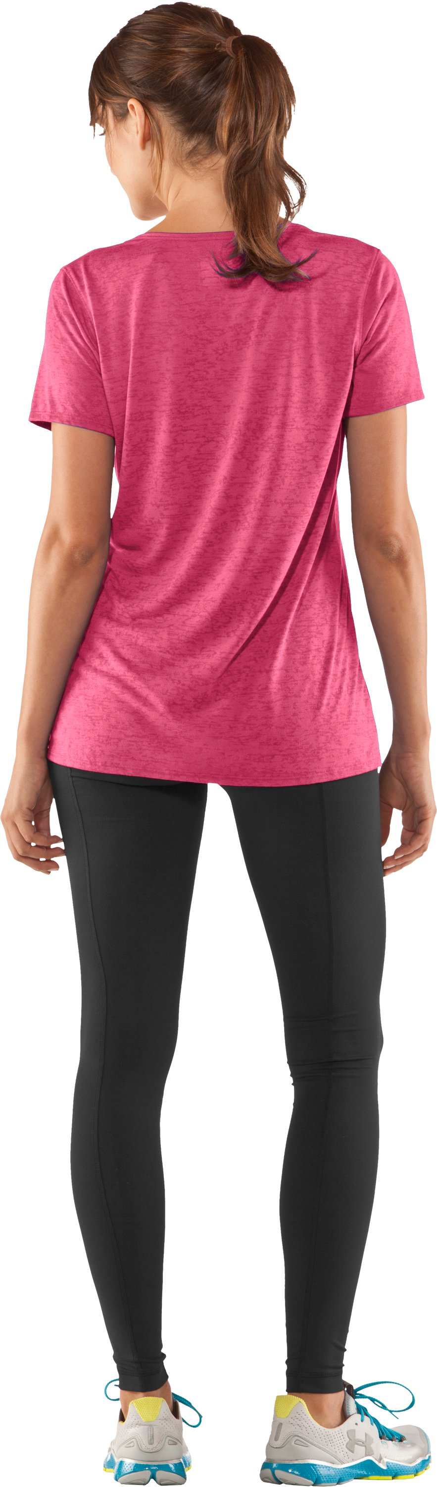 Women's Achieve Burnout T-Shirt, Ultra, Back