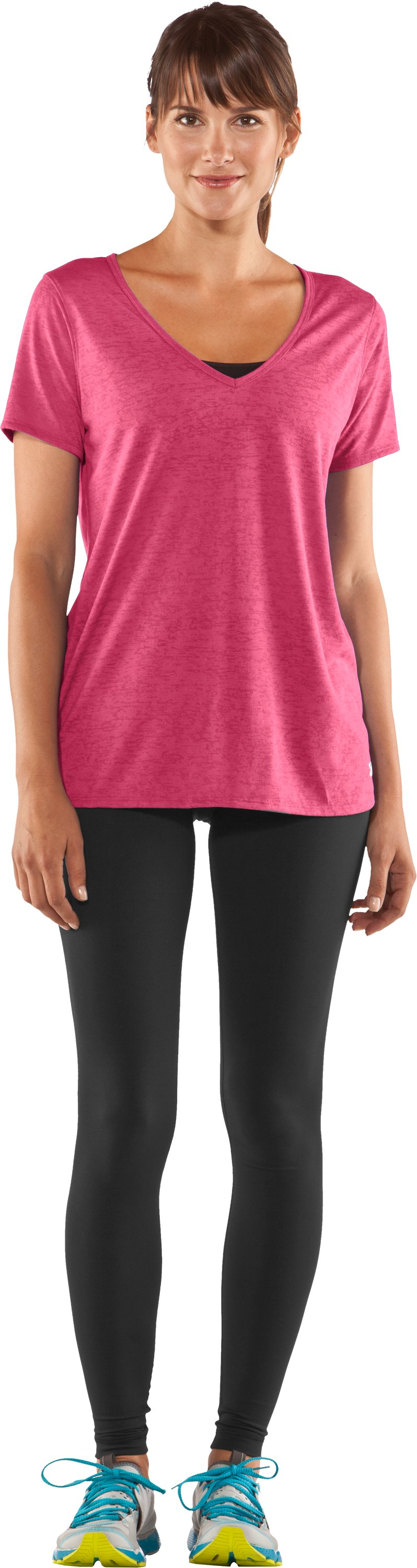 Women's Achieve Burnout T-Shirt, Ultra, Front