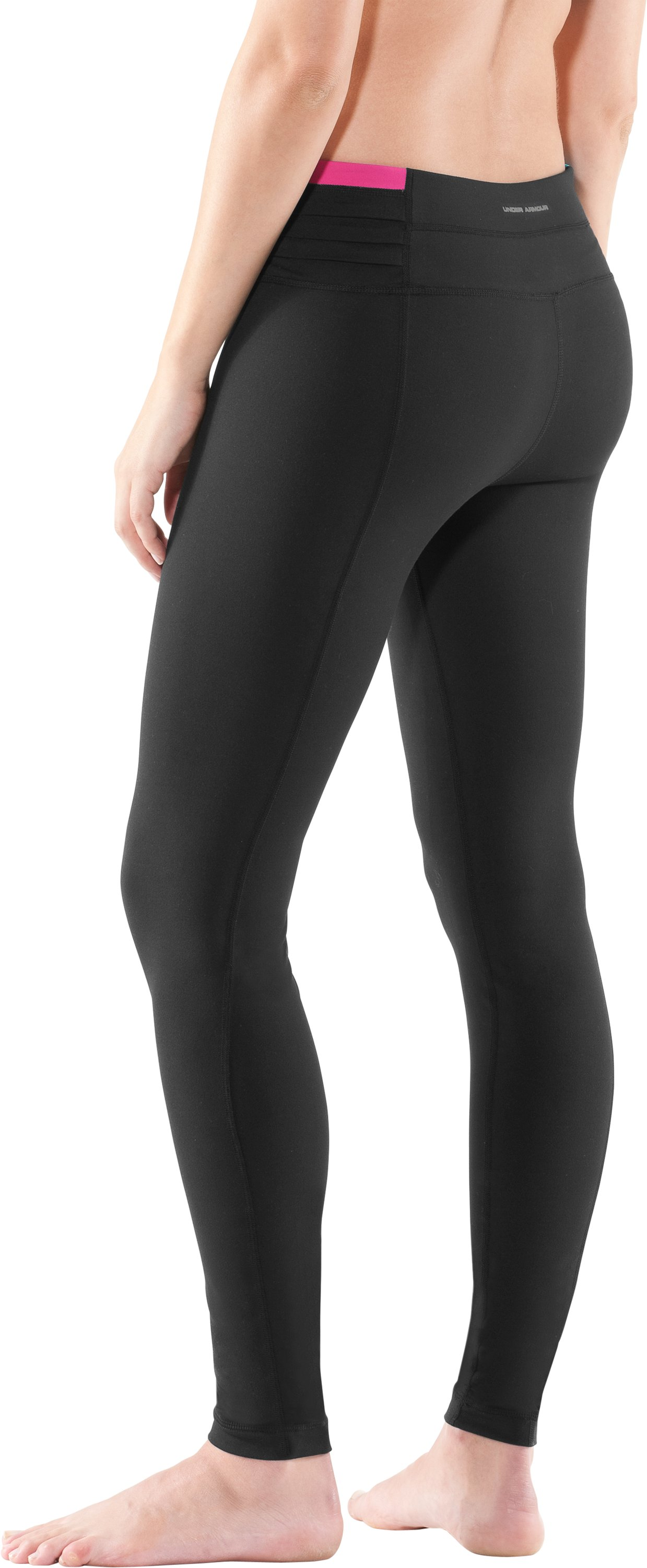 "Women's 30"" UA StudioLux® Quattro Leggings - Short, Black"
