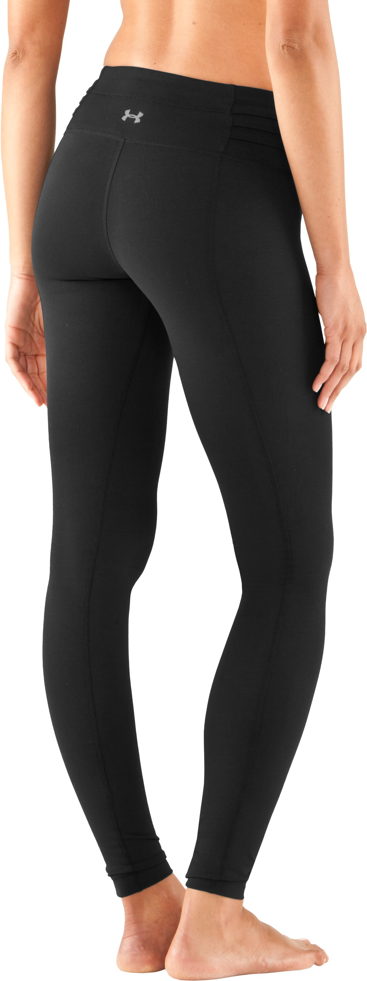 "Women's 30"" UA StudioLux® Quattro Leggings - Short, Black ,"