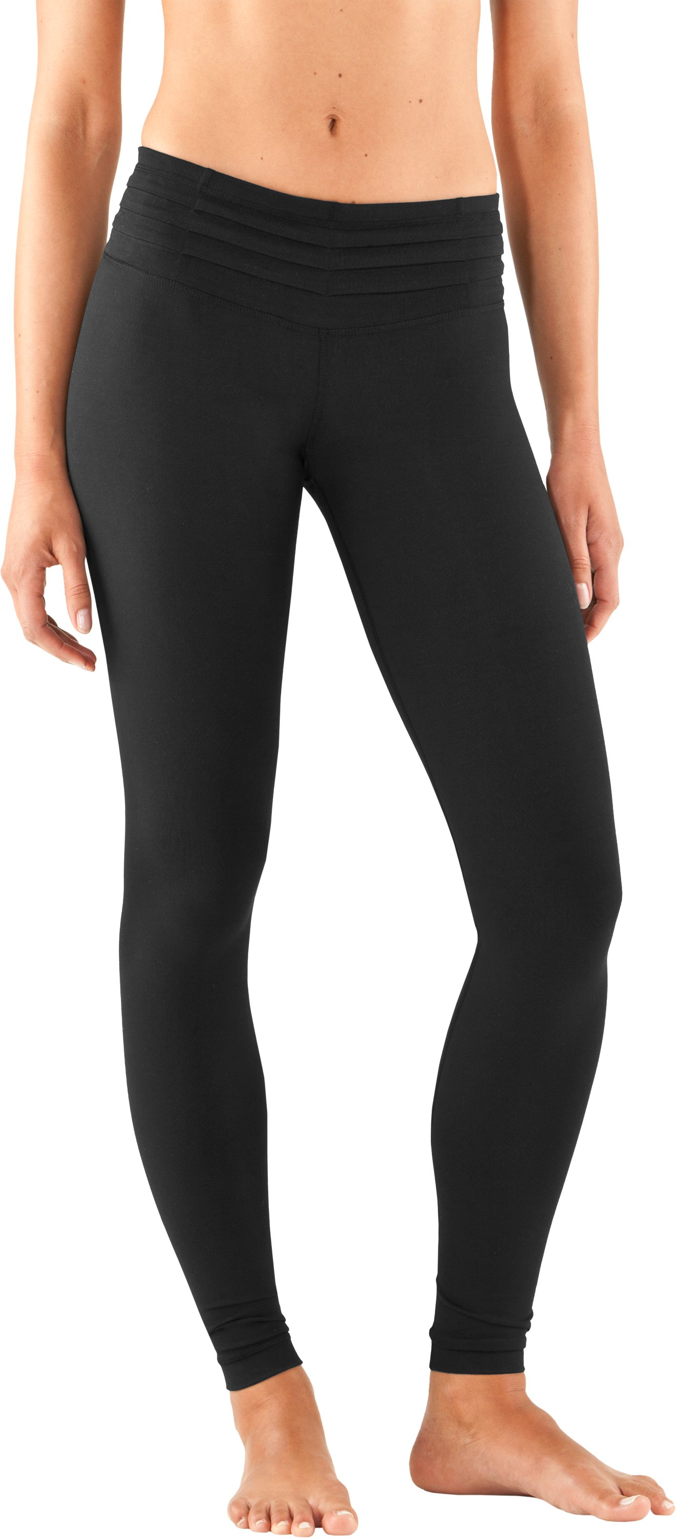 "Women's 30"" UA StudioLux® Quattro Leggings - Short, Black , zoomed image"