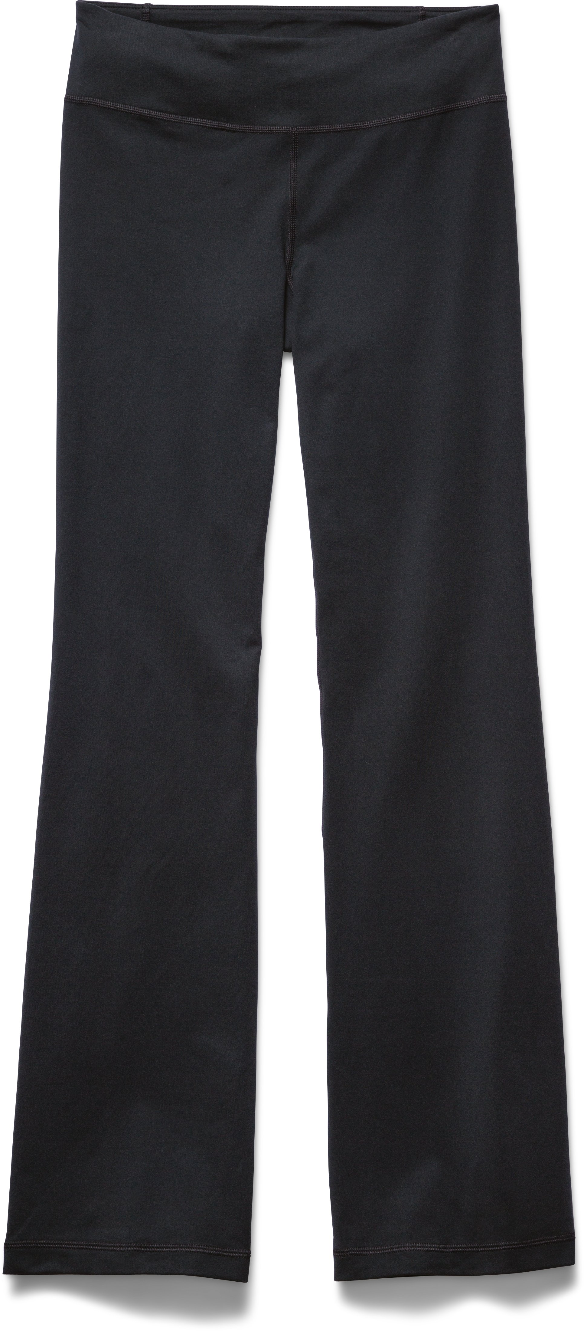 "Women's UA Perfect Pant - 31.5"", Black , Laydown"