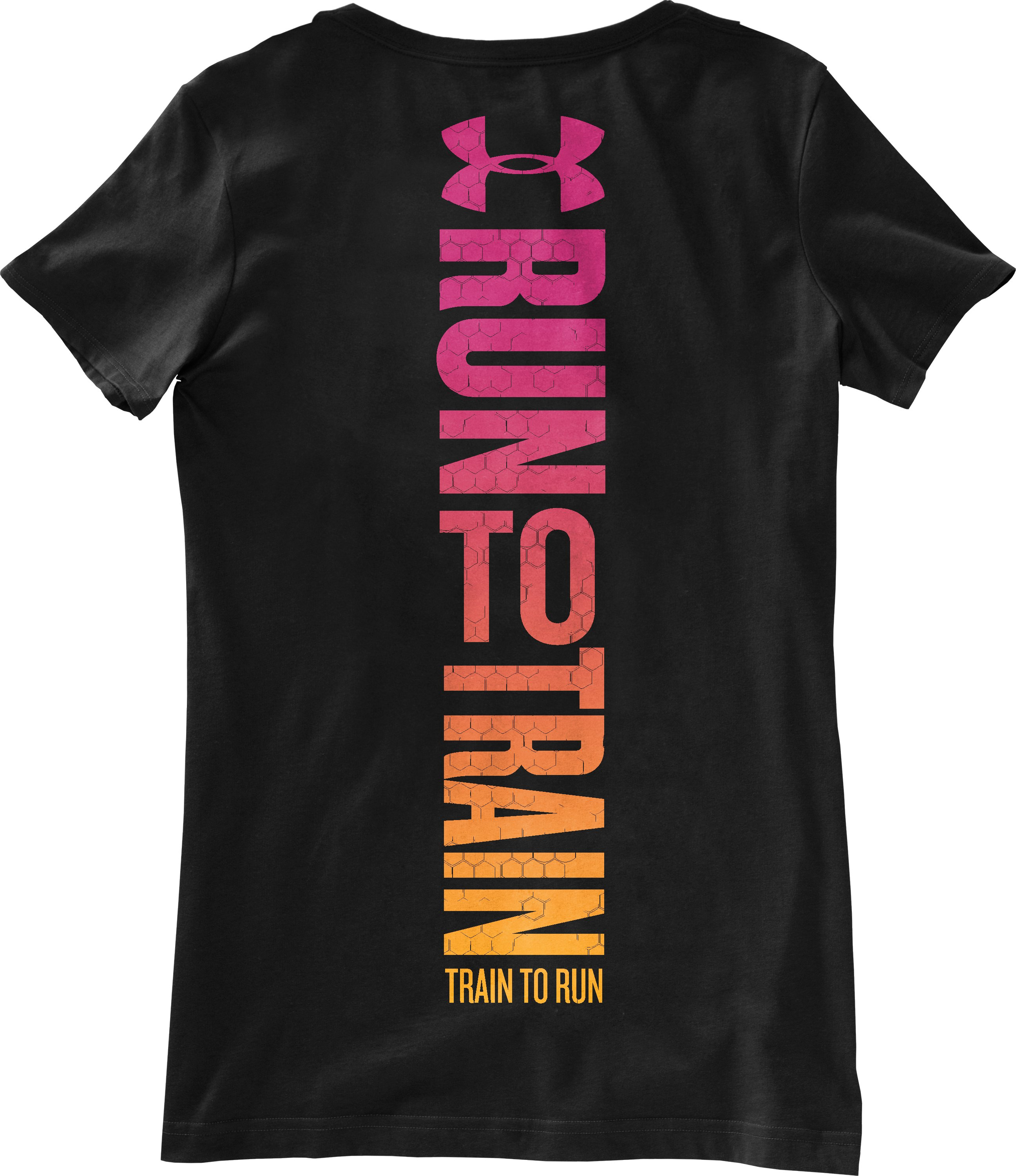 Women's UA Run To Train Graphic T-Shirt, Black