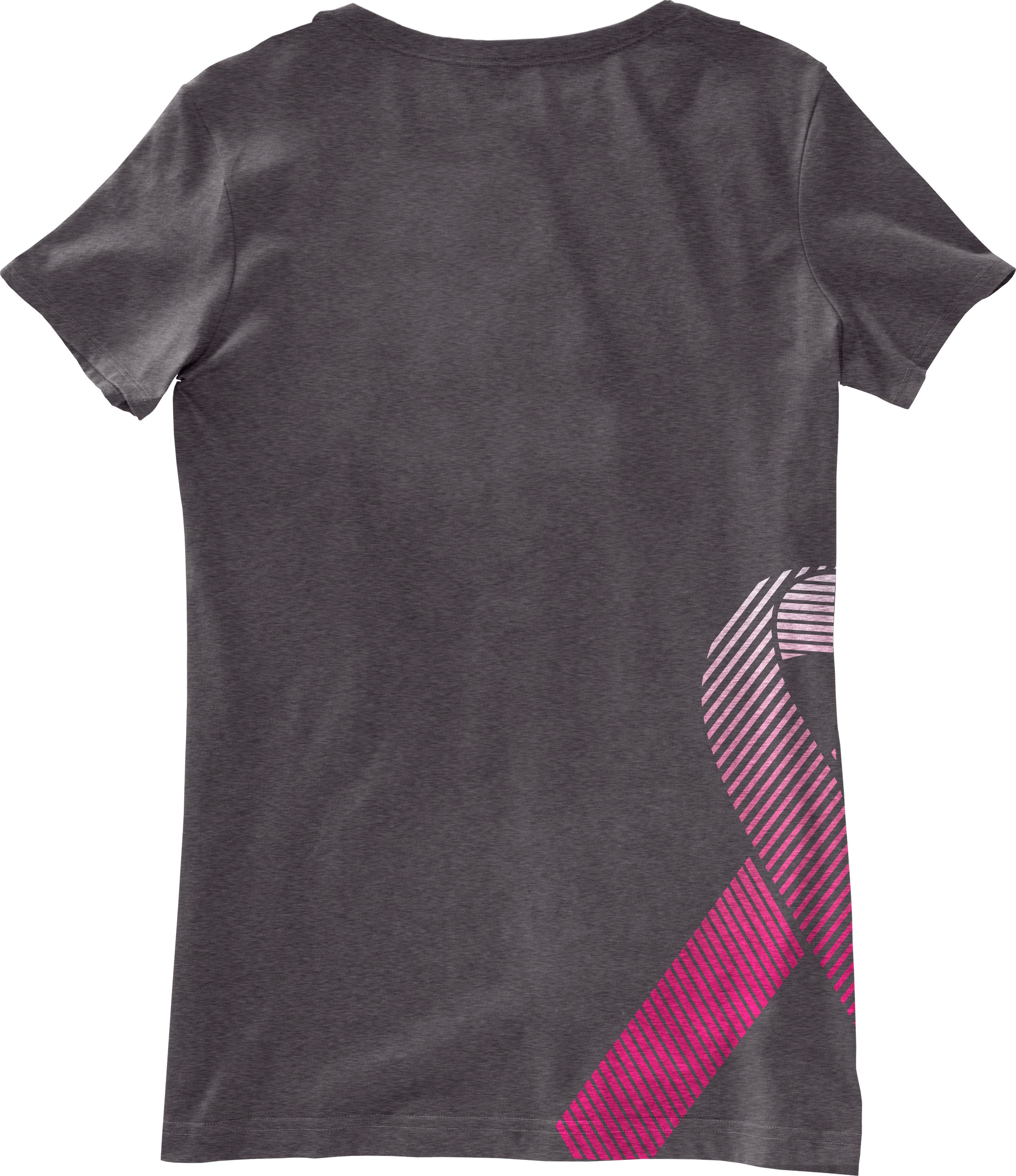 Women's UA PIP® Ribbon V-Neck, Carbon Heather