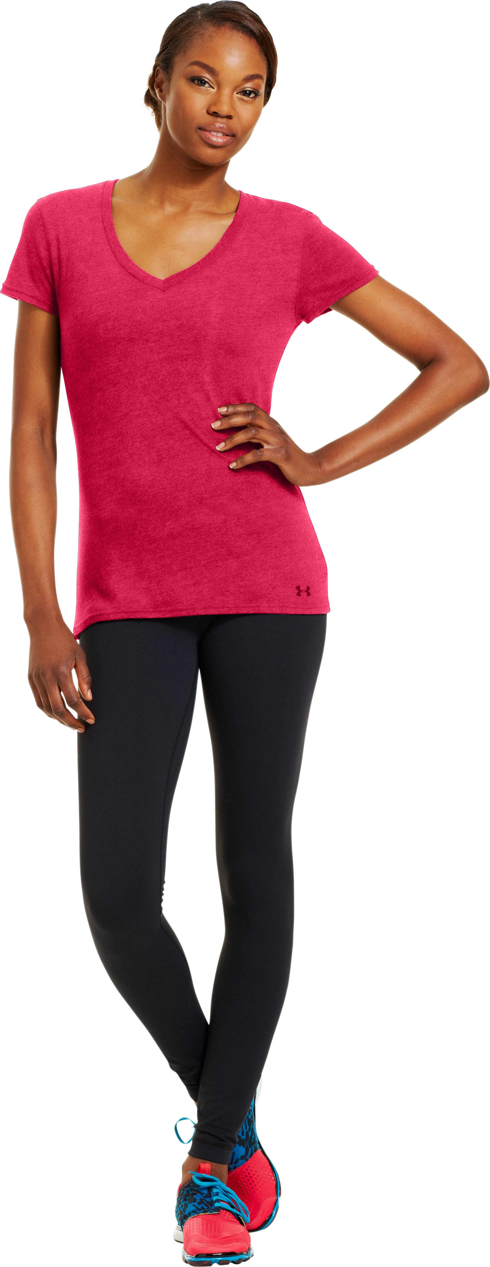 Women's Charged Cotton® Undeniable T-Shirt, KNOCK OUT, Front