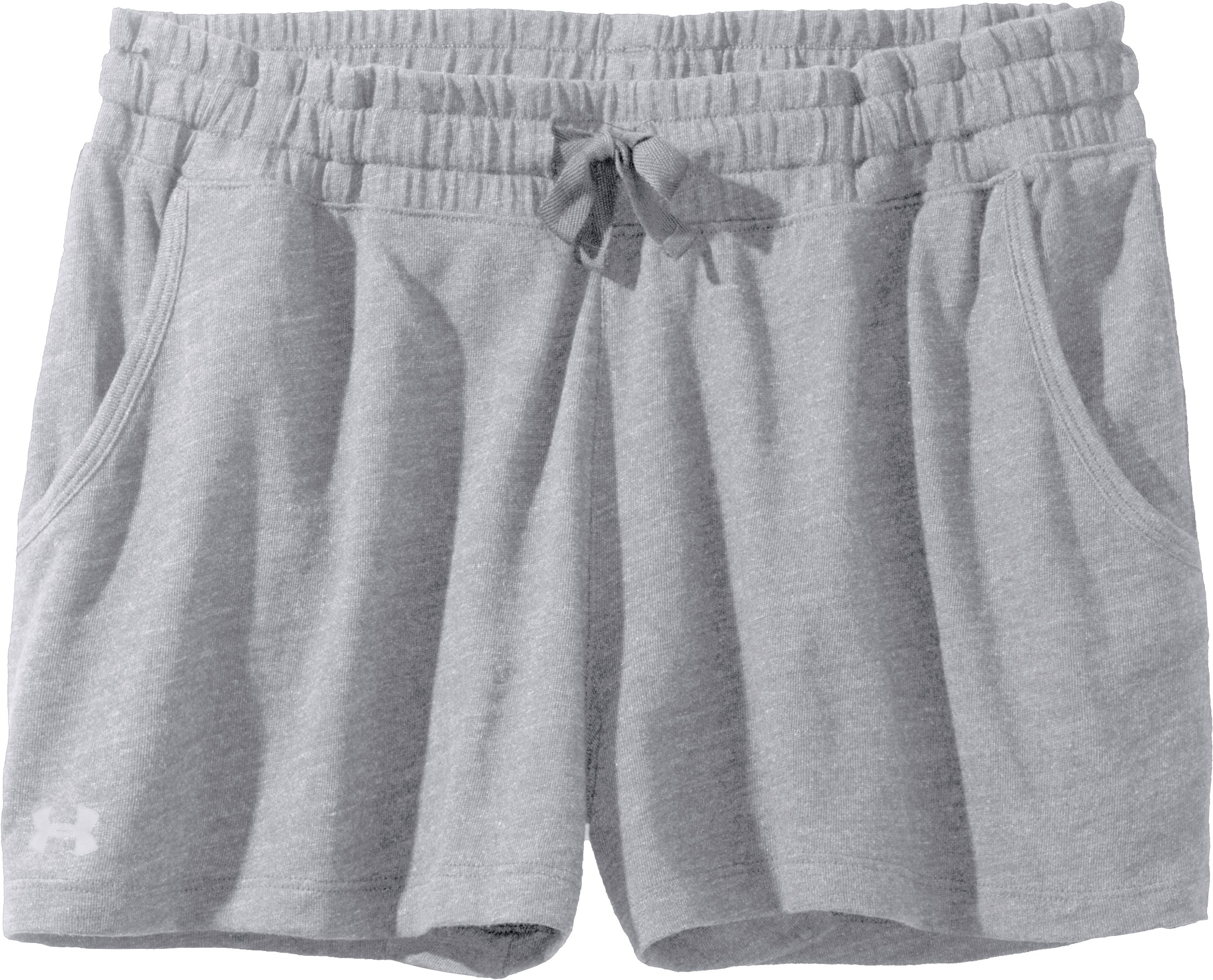 Women's Charged Cotton® Undeniable Shorts, Charcoal, Laydown
