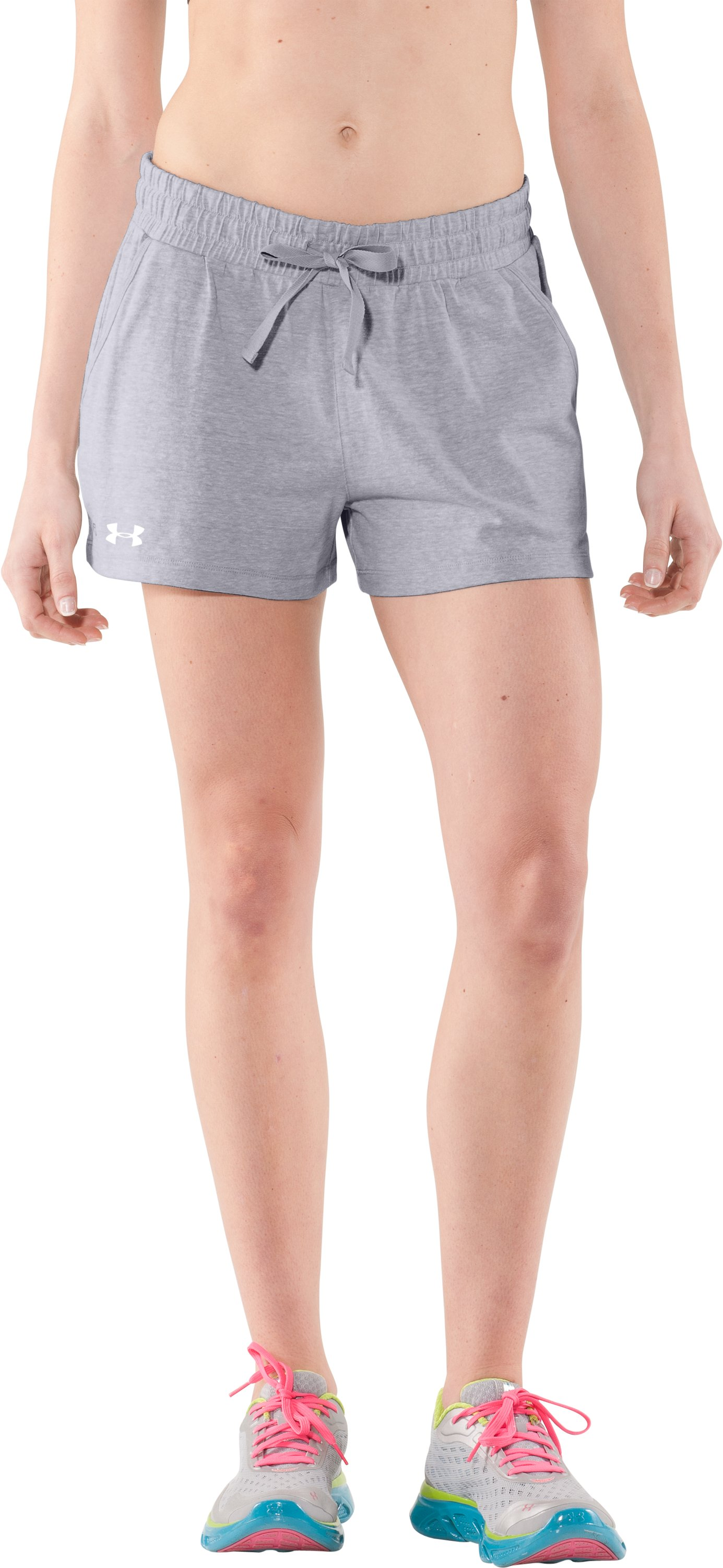 Women's Charged Cotton® Undeniable Shorts, Aluminum