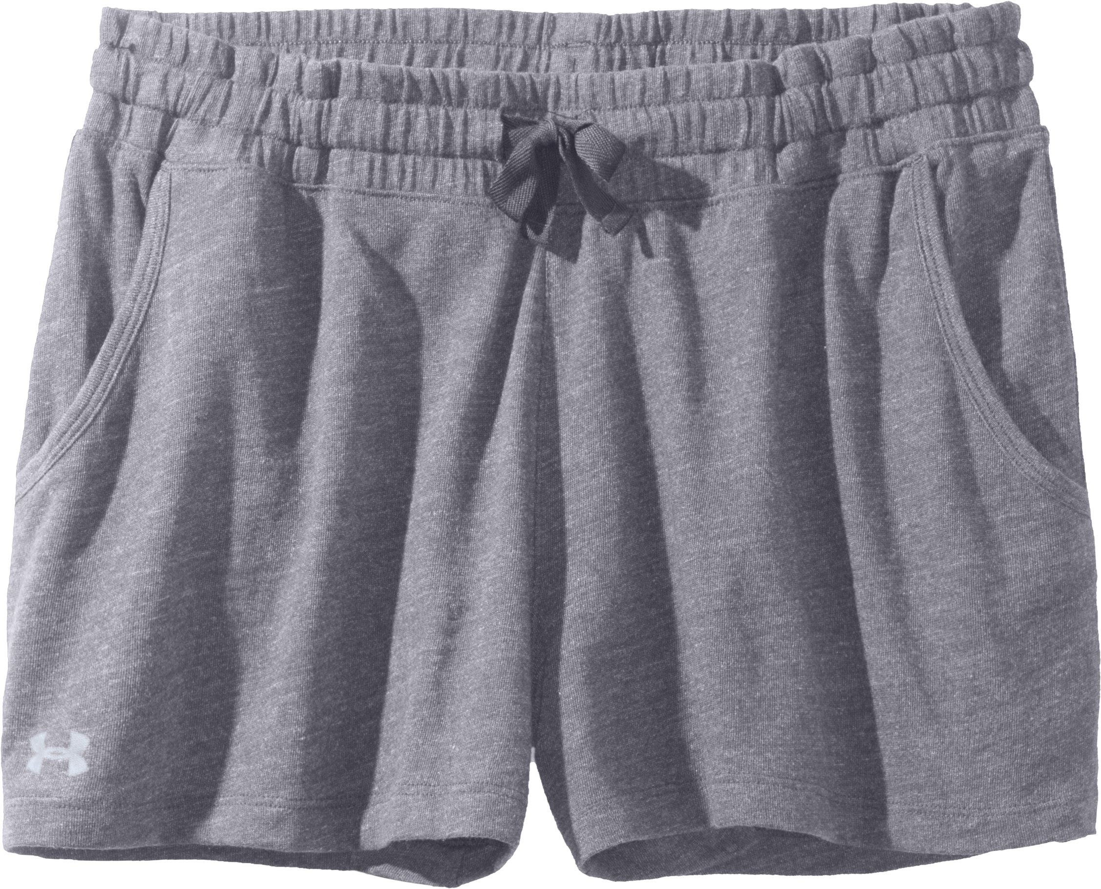 Women's Charged Cotton® Undeniable Shorts, Aluminum, Laydown