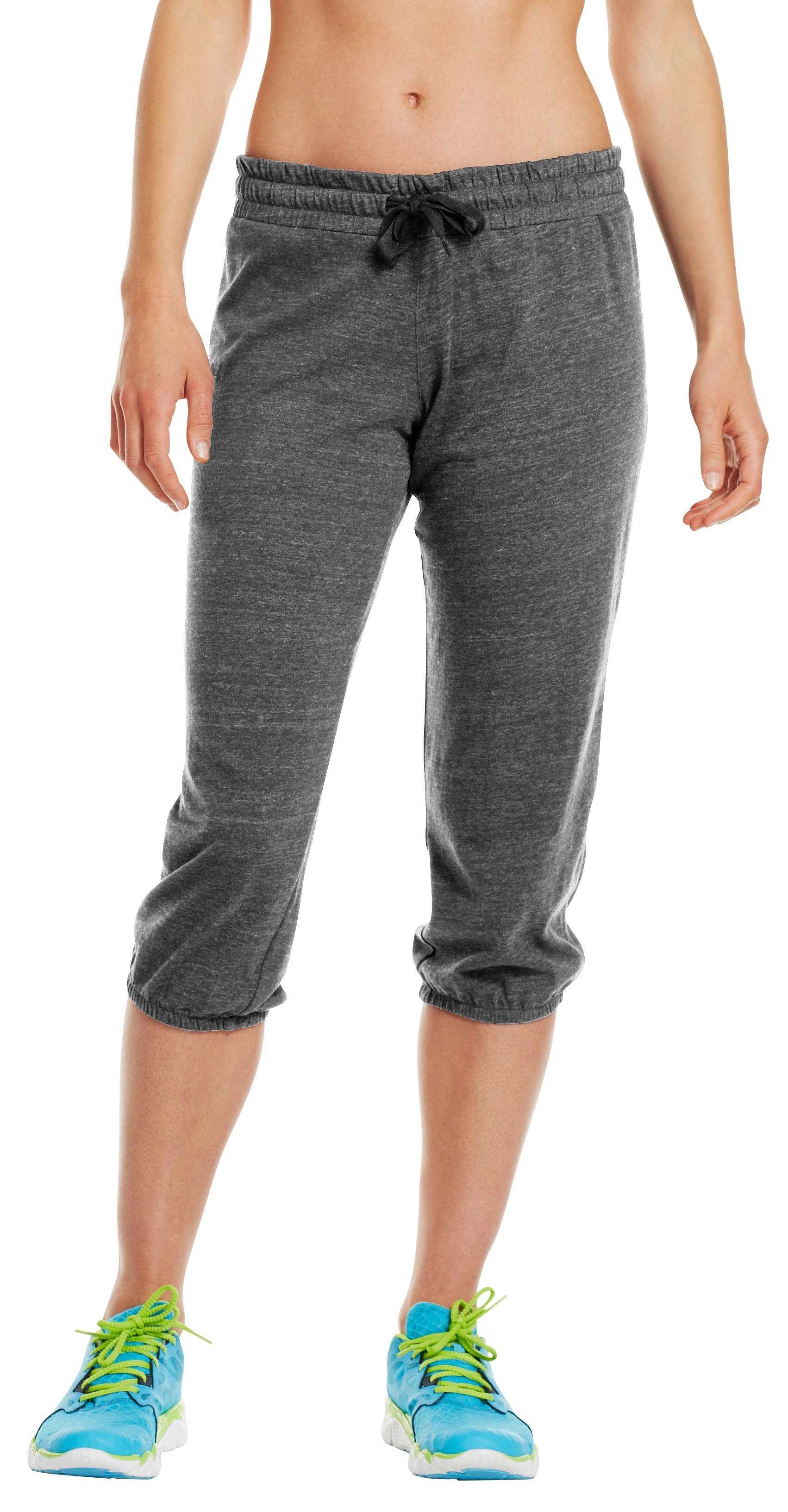 Women's Charged Cotton® Undeniable Capri, Charcoal, undefined