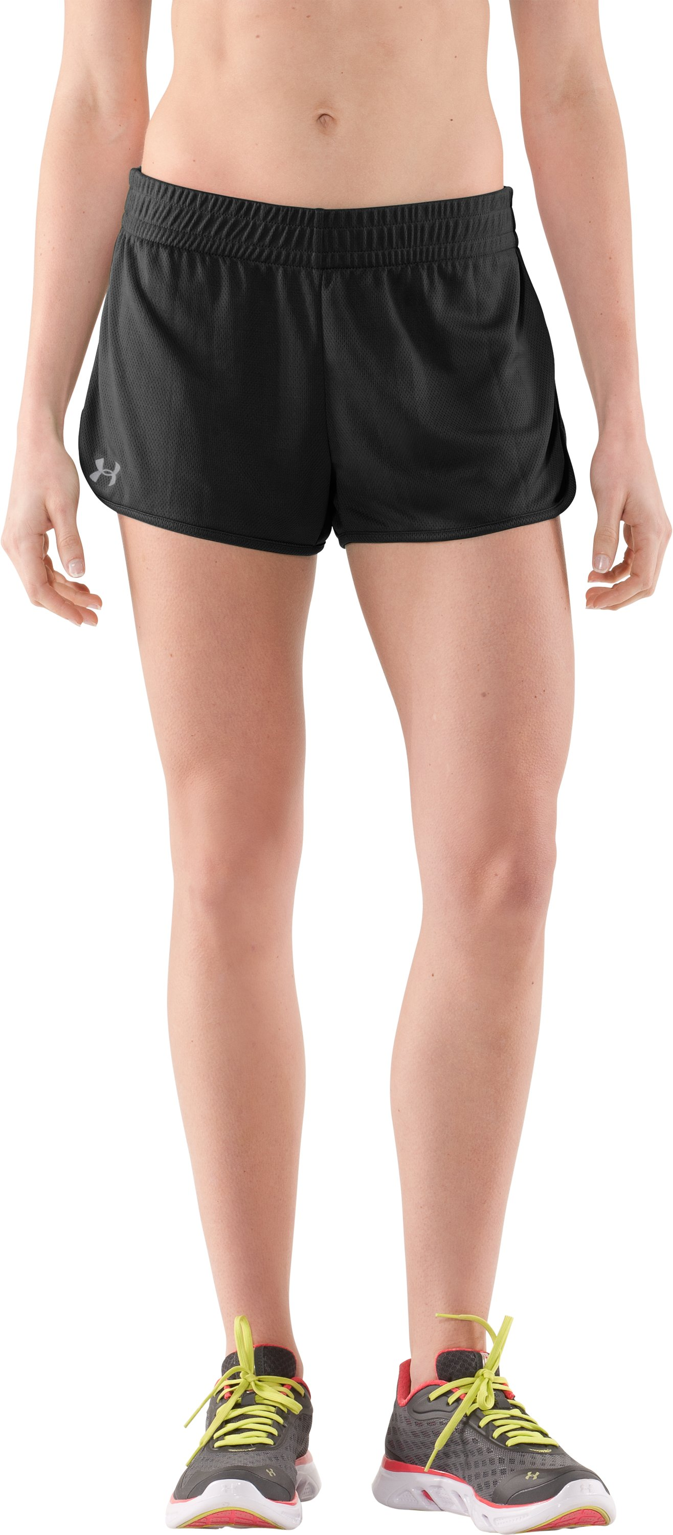 Women's UA Tidal Shorty, Black , zoomed image