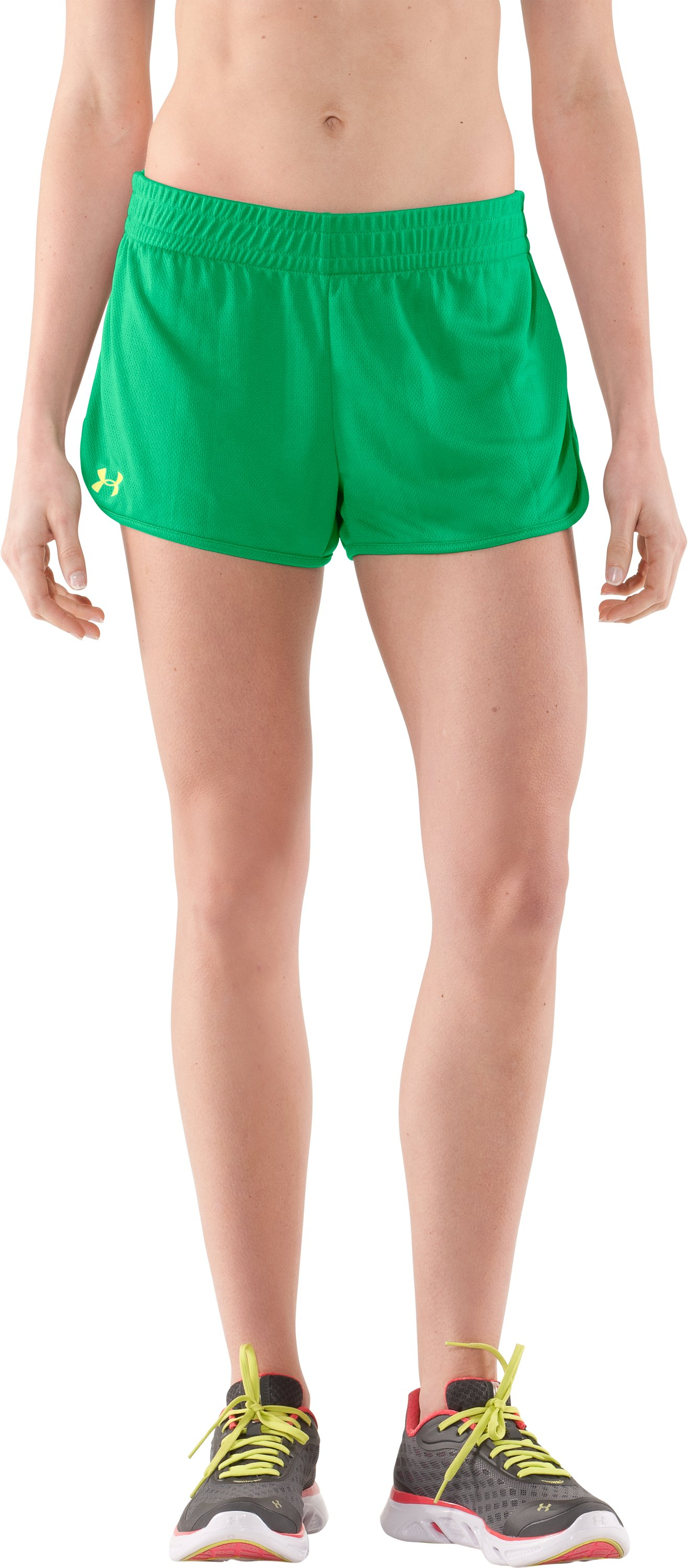 Women's UA Tidal Shorty, CHLOROPHYLL