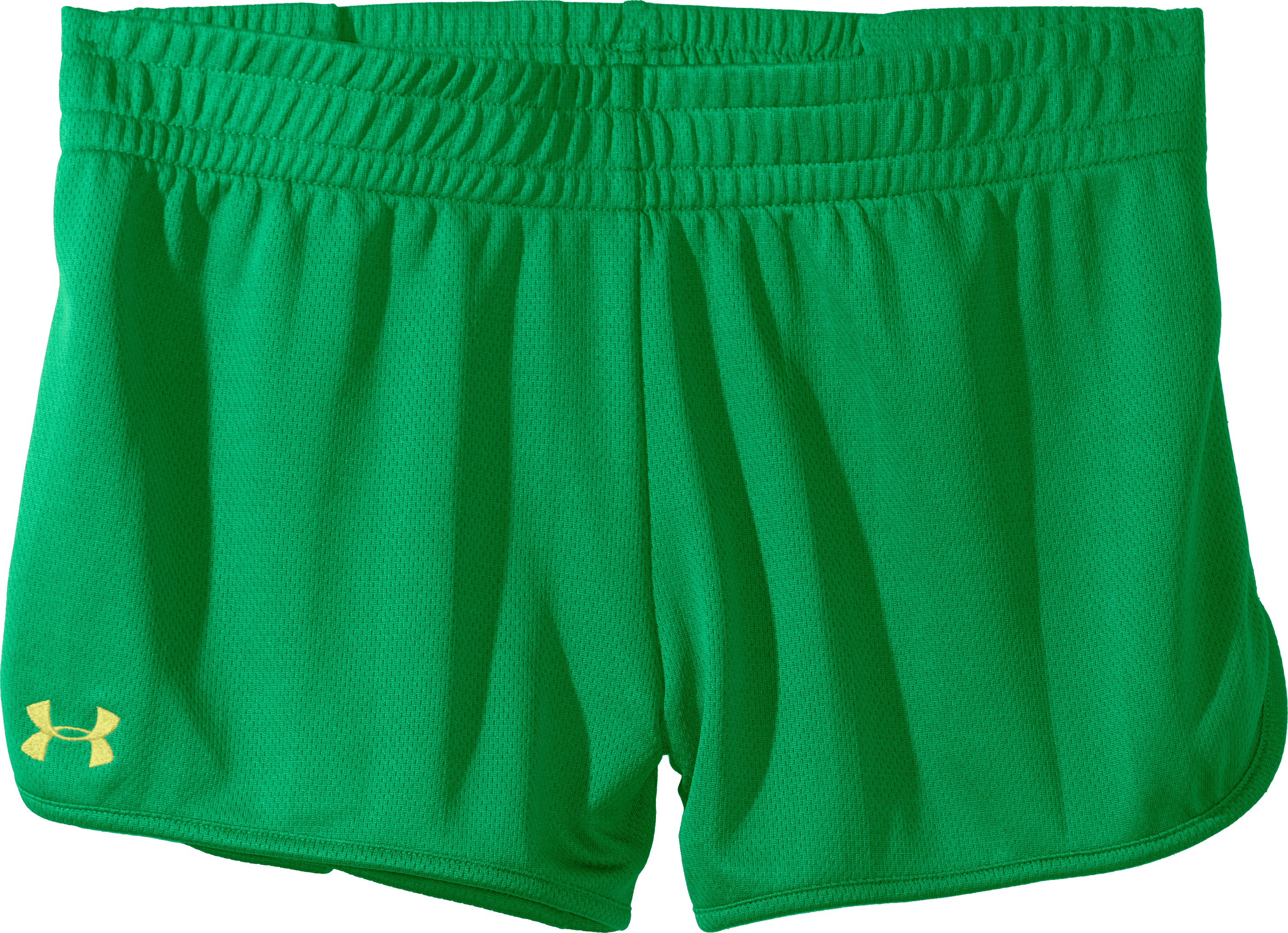 Women's UA Tidal Shorty, CHLOROPHYLL, Laydown