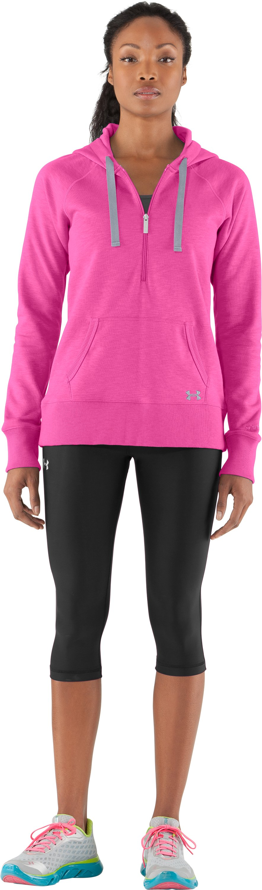 Women's Charged Cotton® Storm Slub Hoodie, Playful, Front