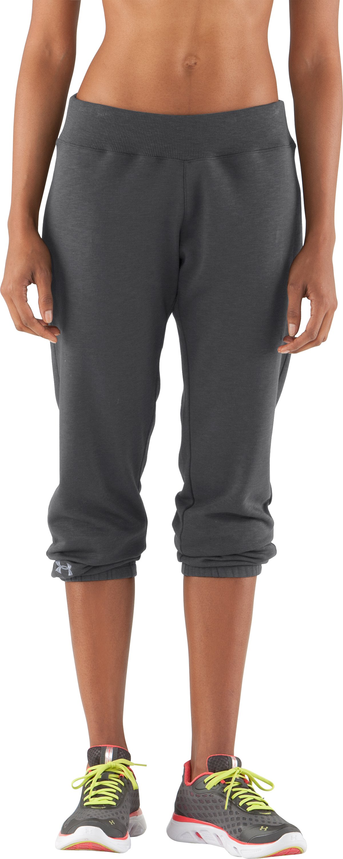 Women's Charged Cotton® Storm Slub Pants, Graphite, zoomed image