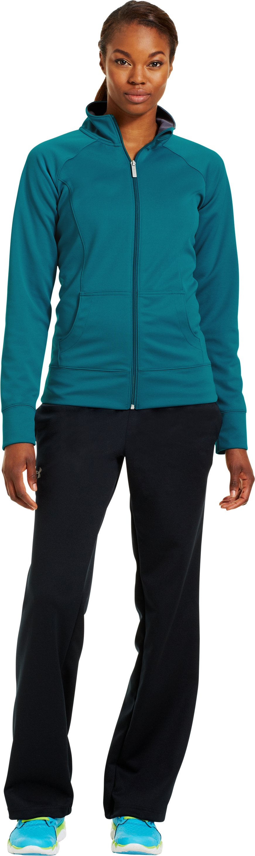 Women's UA Craze Jacket, CERULEAN