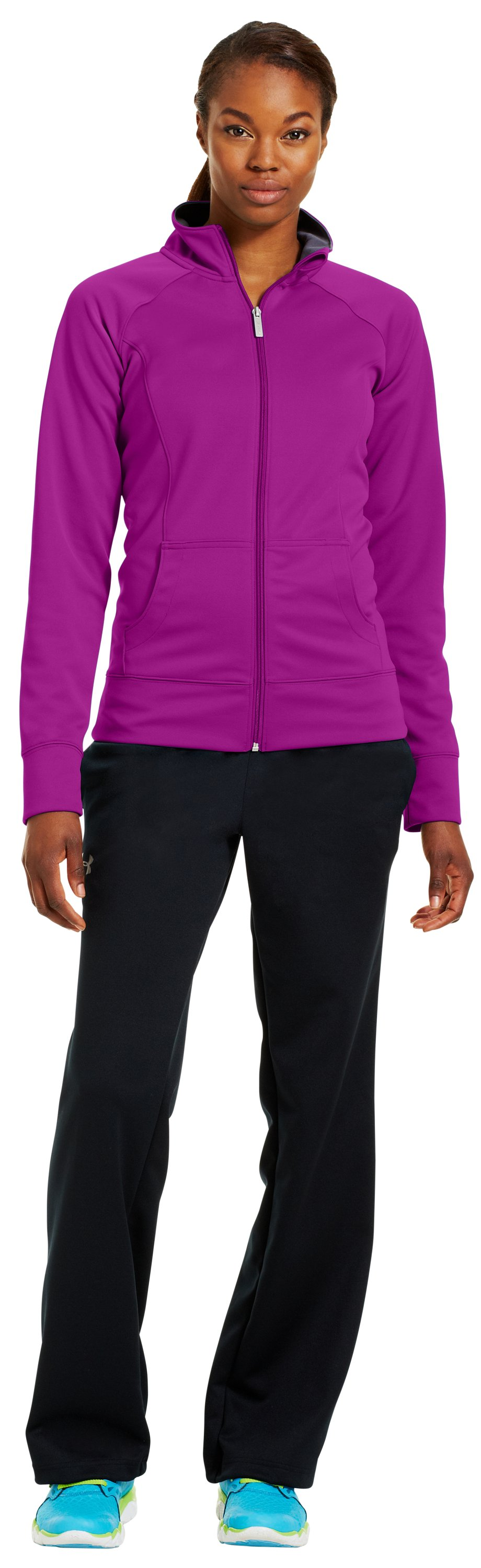 Women's UA Craze Jacket, STROBE, Front
