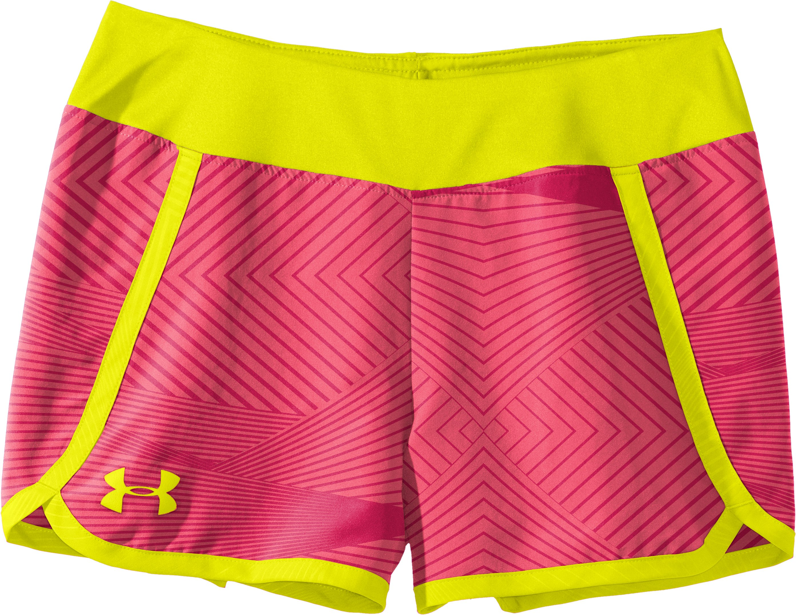 "Girls' UA Ripping 3"" Shorts, Power, Laydown"