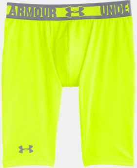 "Boys' HeatGear® Sonic 7"" Fitted Shorts"