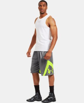 Men's UA EZ Mon-Knee Basketball Shorts