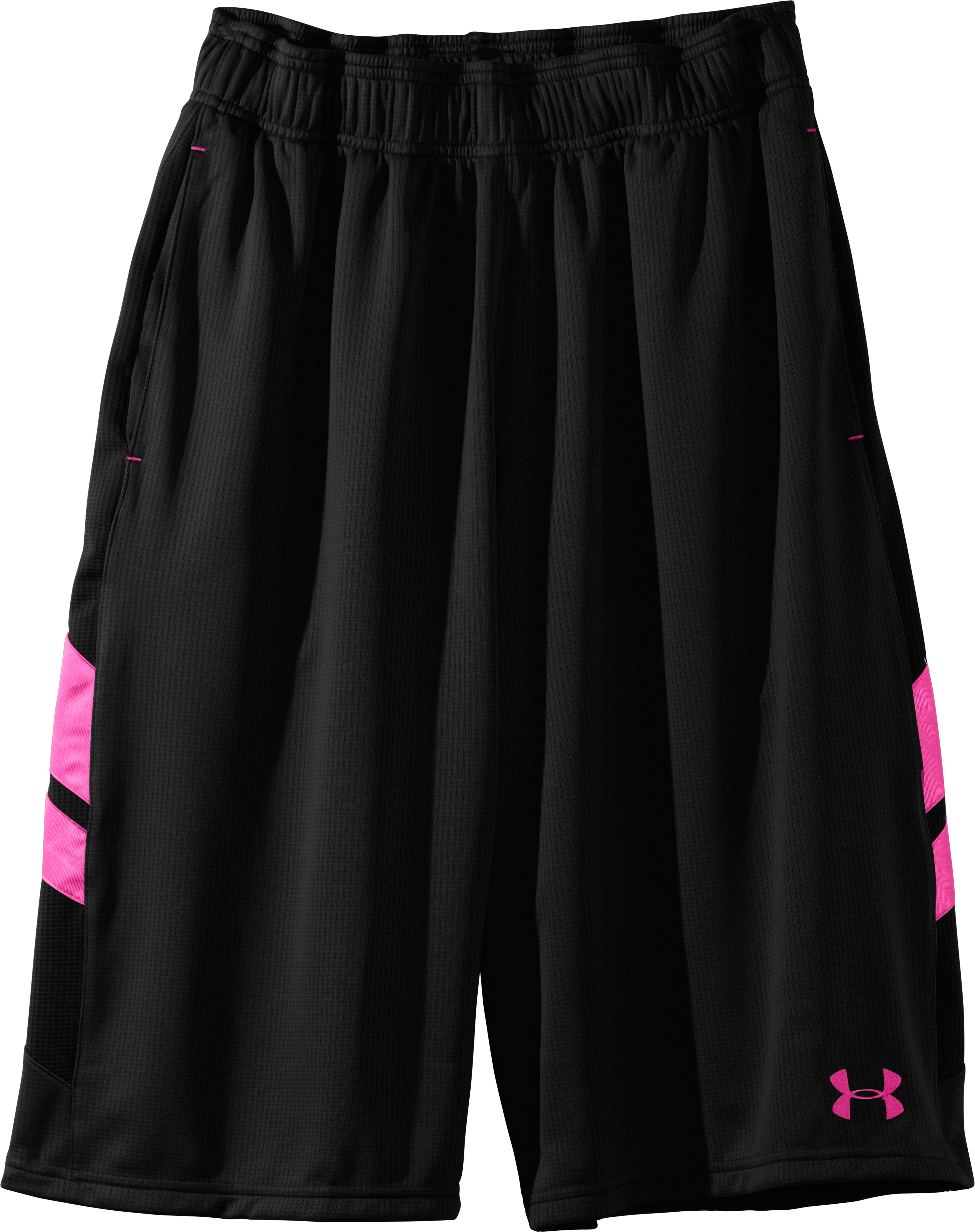 "Men's UA Hova 12"" Shorts, Black , Laydown"