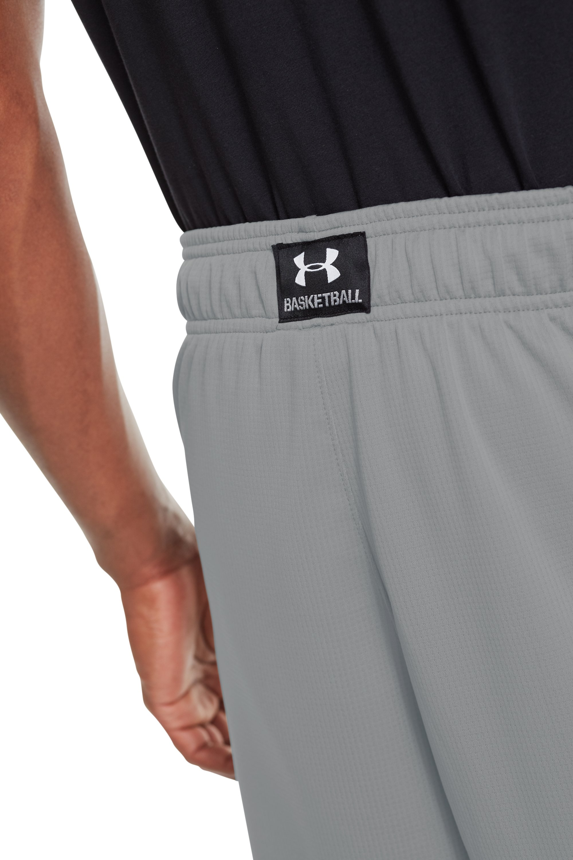 "Men's UA Hova 12"" Shorts, Concrete, undefined"