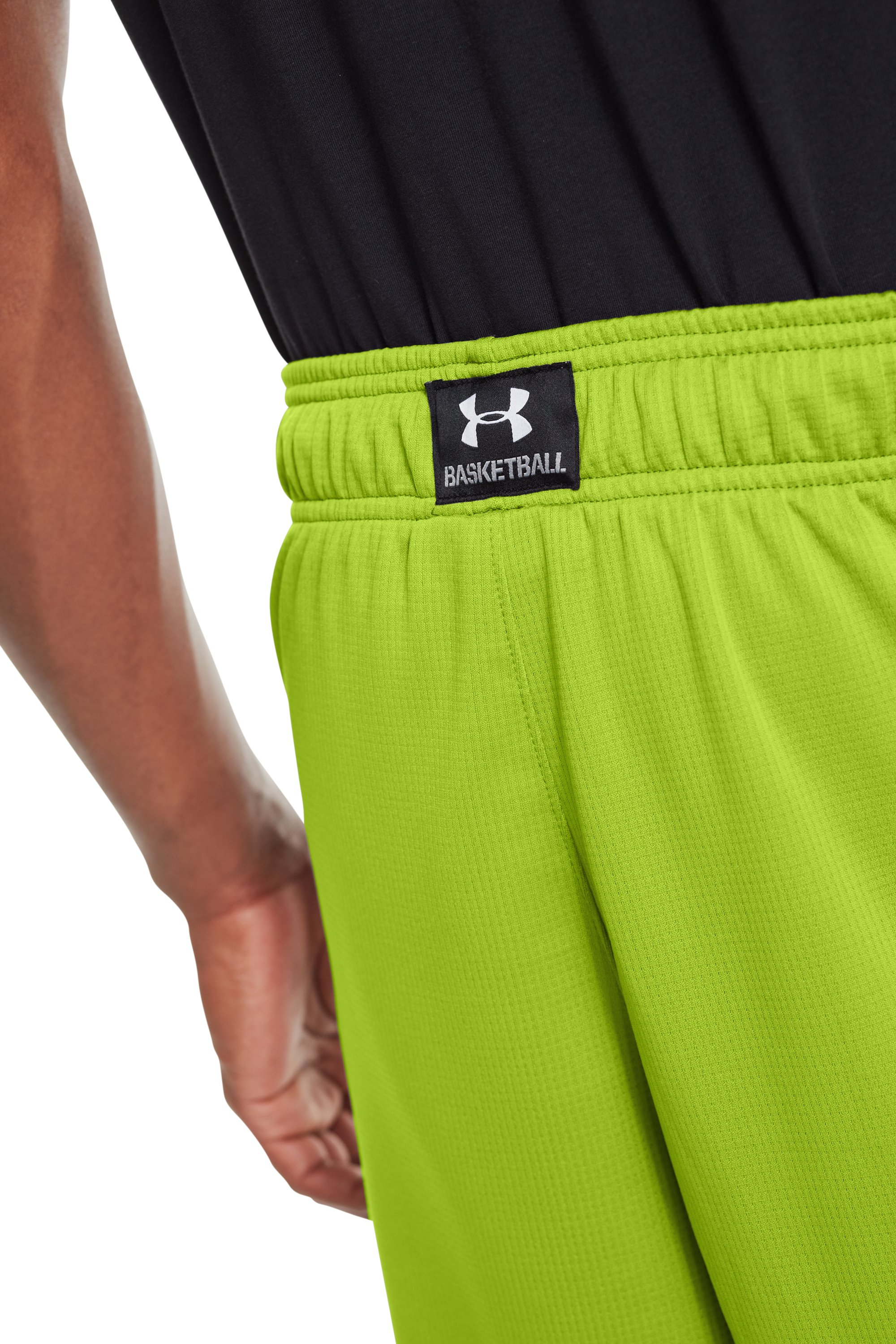 "Men's UA Hova 12"" Shorts, HYPER GREEN"