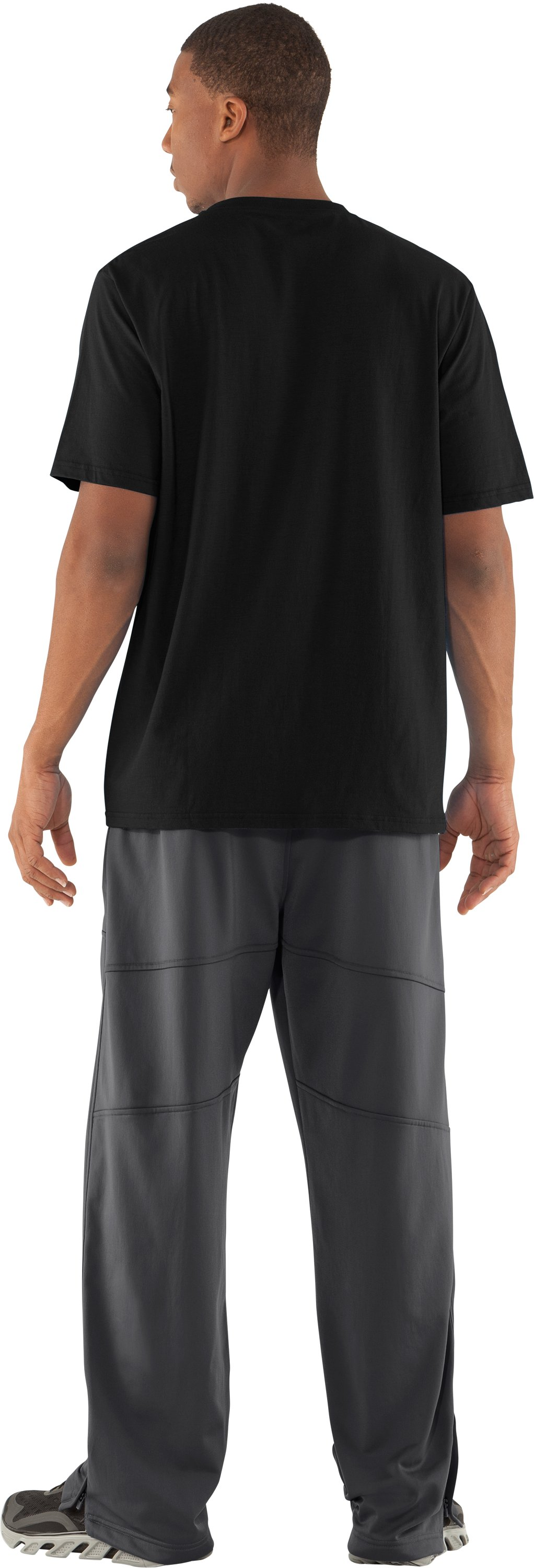 Men's UA Deuces Warm-Up Pants, Graphite, Back