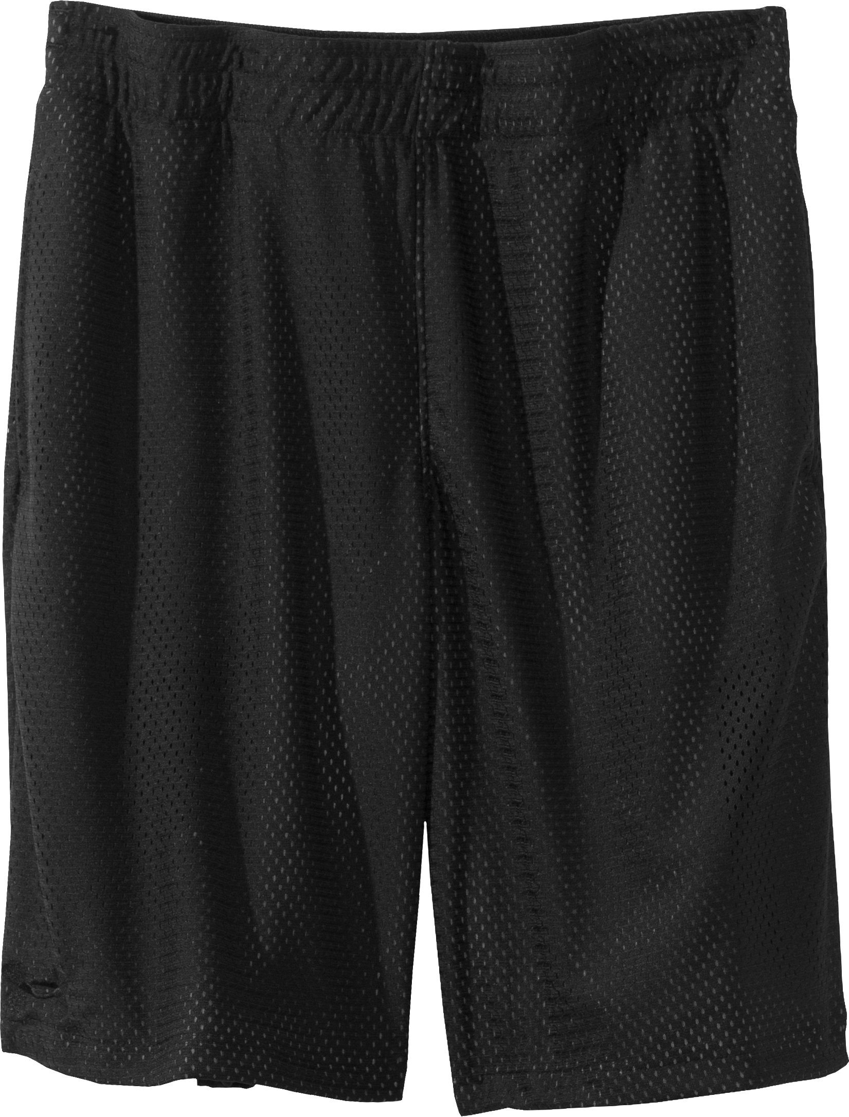 "Boys' UA Renegade 9"" Shorts, Black , Laydown"