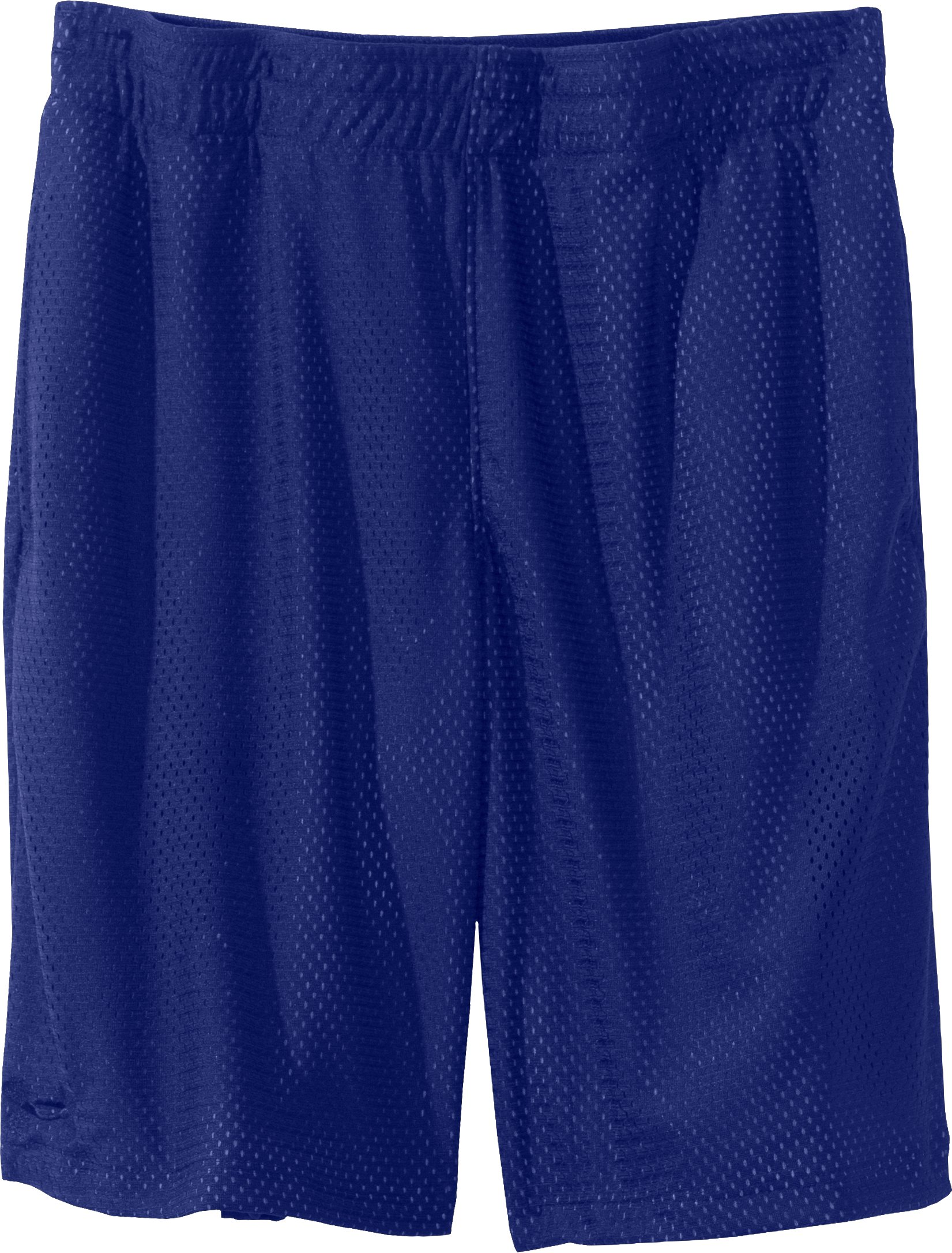 "Boys' UA Renegade 9"" Shorts, Royal, Laydown"