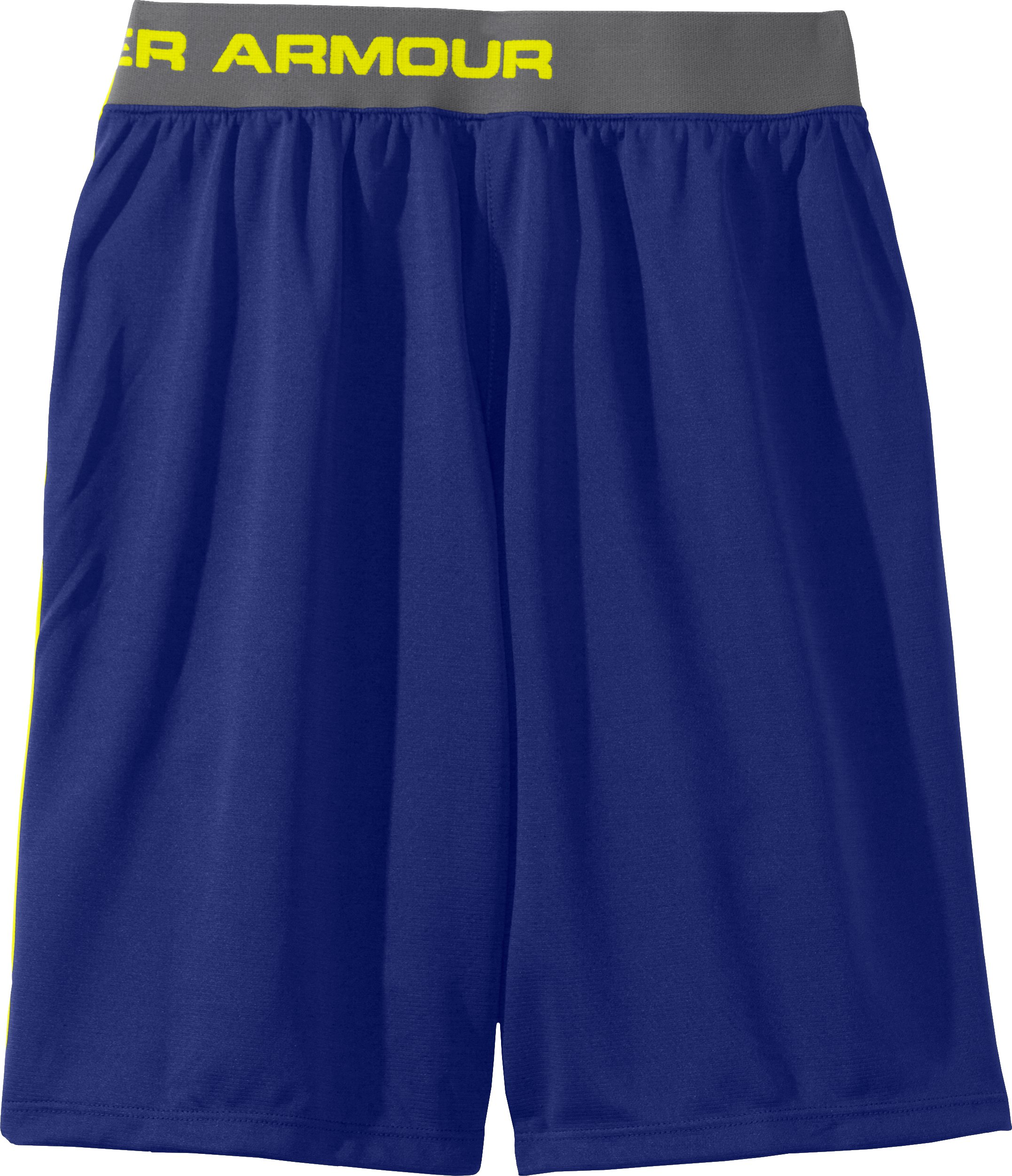 "Boys' UA Flare II 9"" Shorts, Royal"