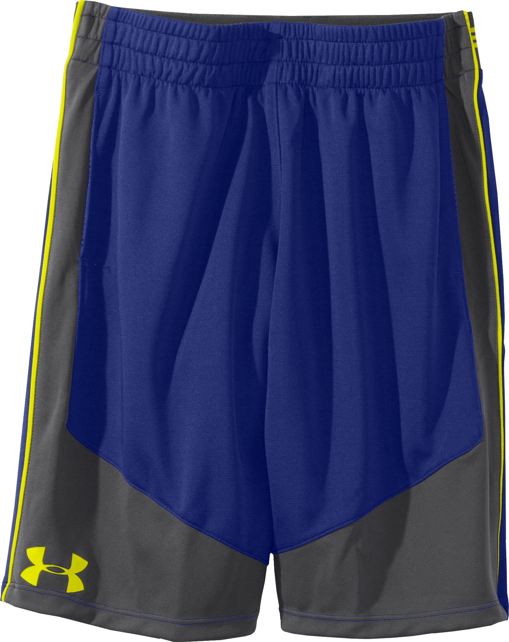 "Boys' UA Flare II 9"" Shorts, Royal, Laydown"