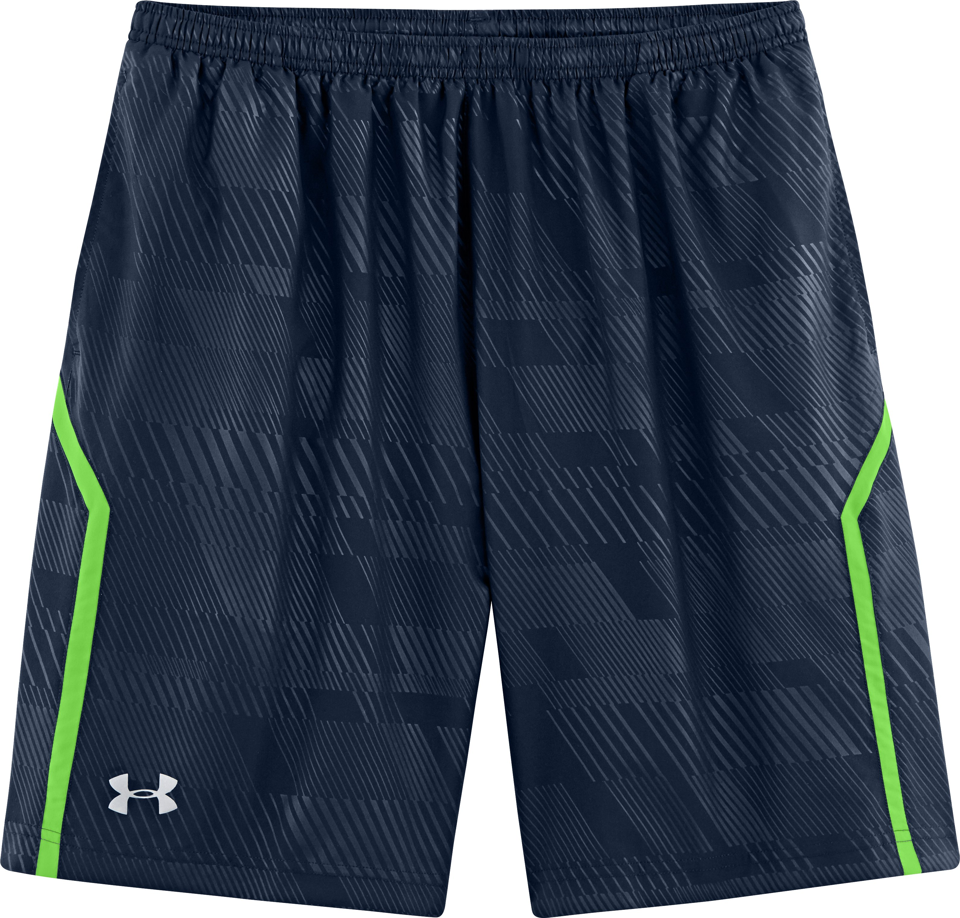 "Men's UA Escape 9"" Woven Shorts, Academy, Laydown"