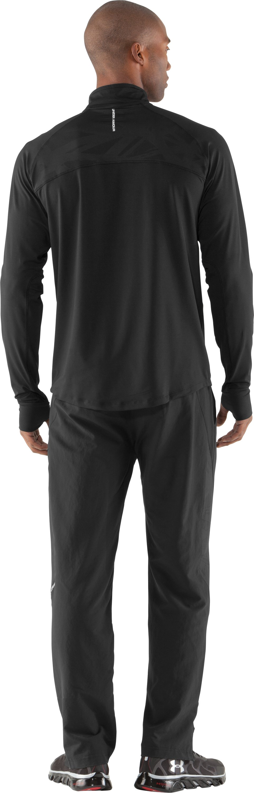 Men's UA Imminent Run Pants, Black , Back