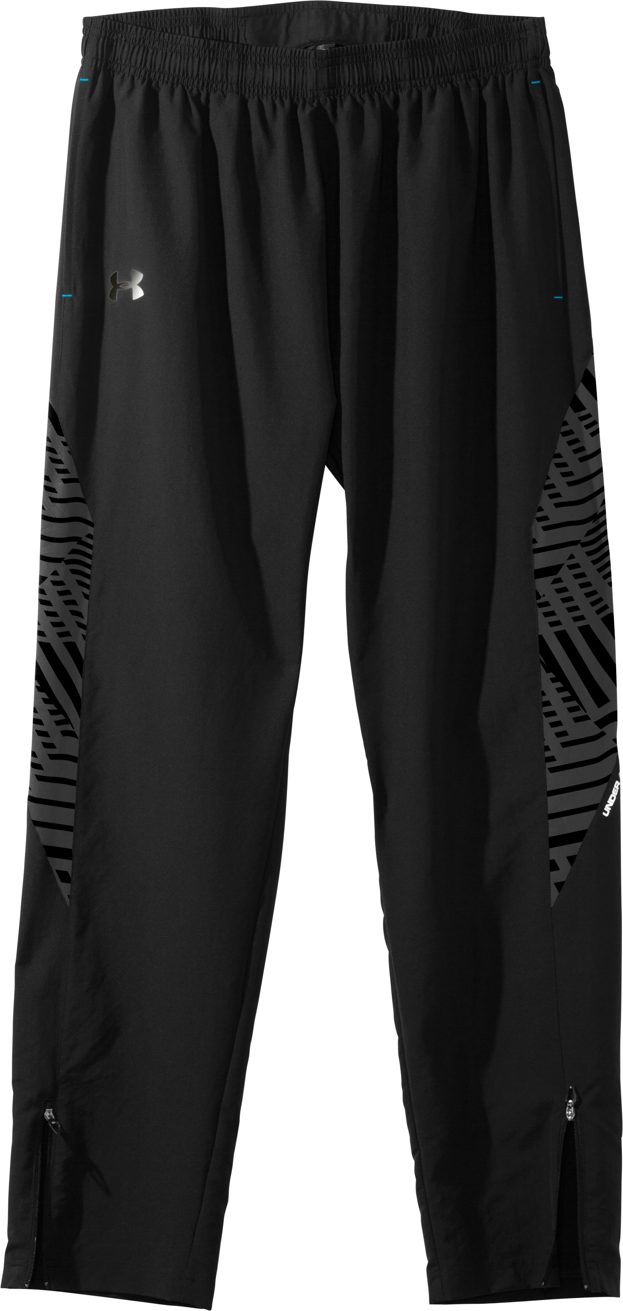 Men's UA Imminent Run Pants, Black , Laydown