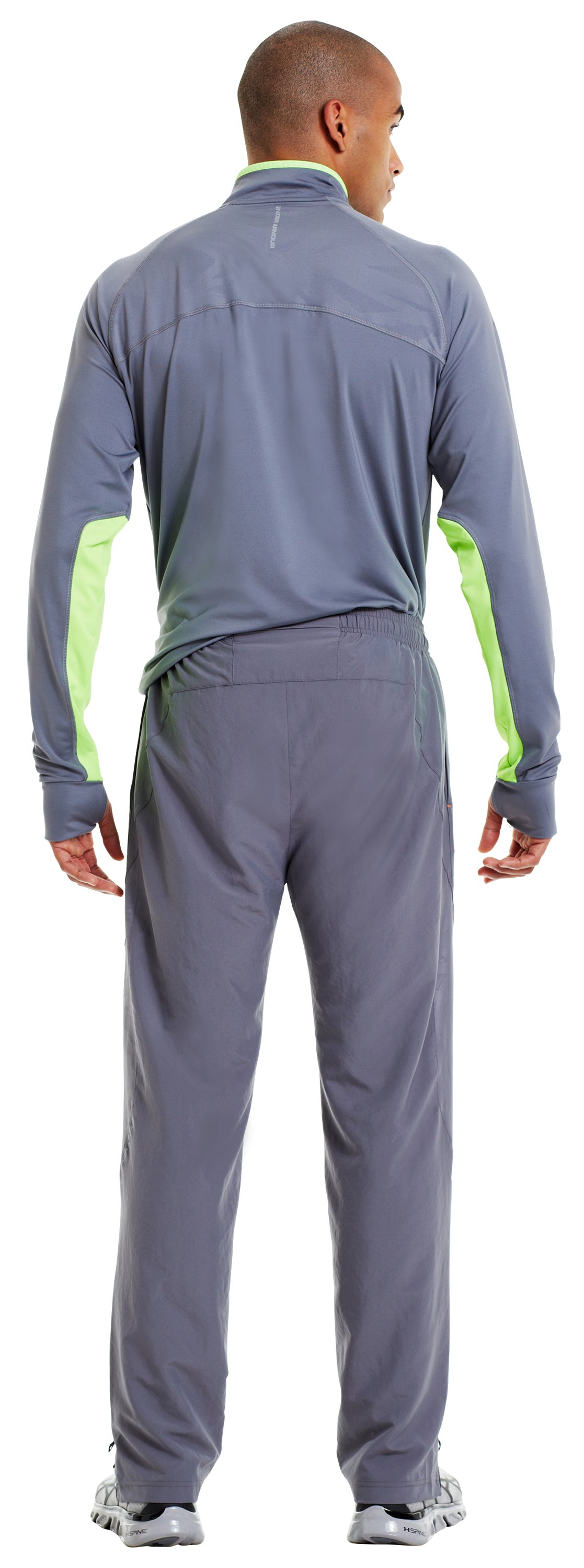 Men's UA Imminent Run Pants, Graphite, Back