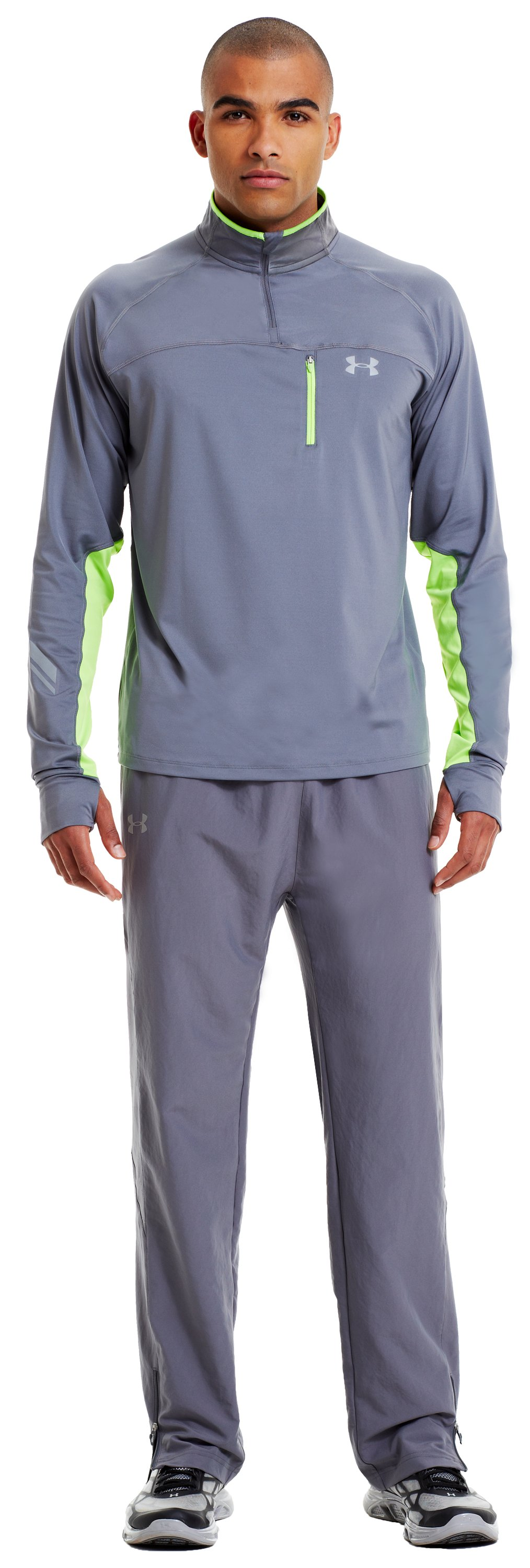 Men's UA Imminent Run Pants, Graphite, zoomed image