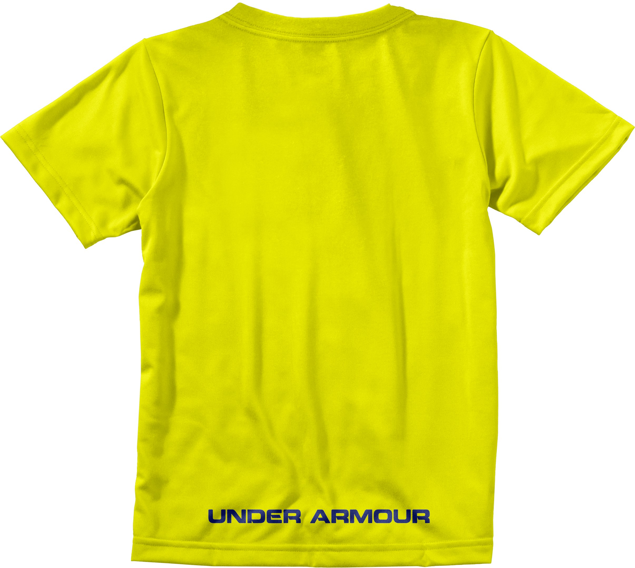 Boys' UA I WILL® Never Quit T-Shirt, High-Vis Yellow