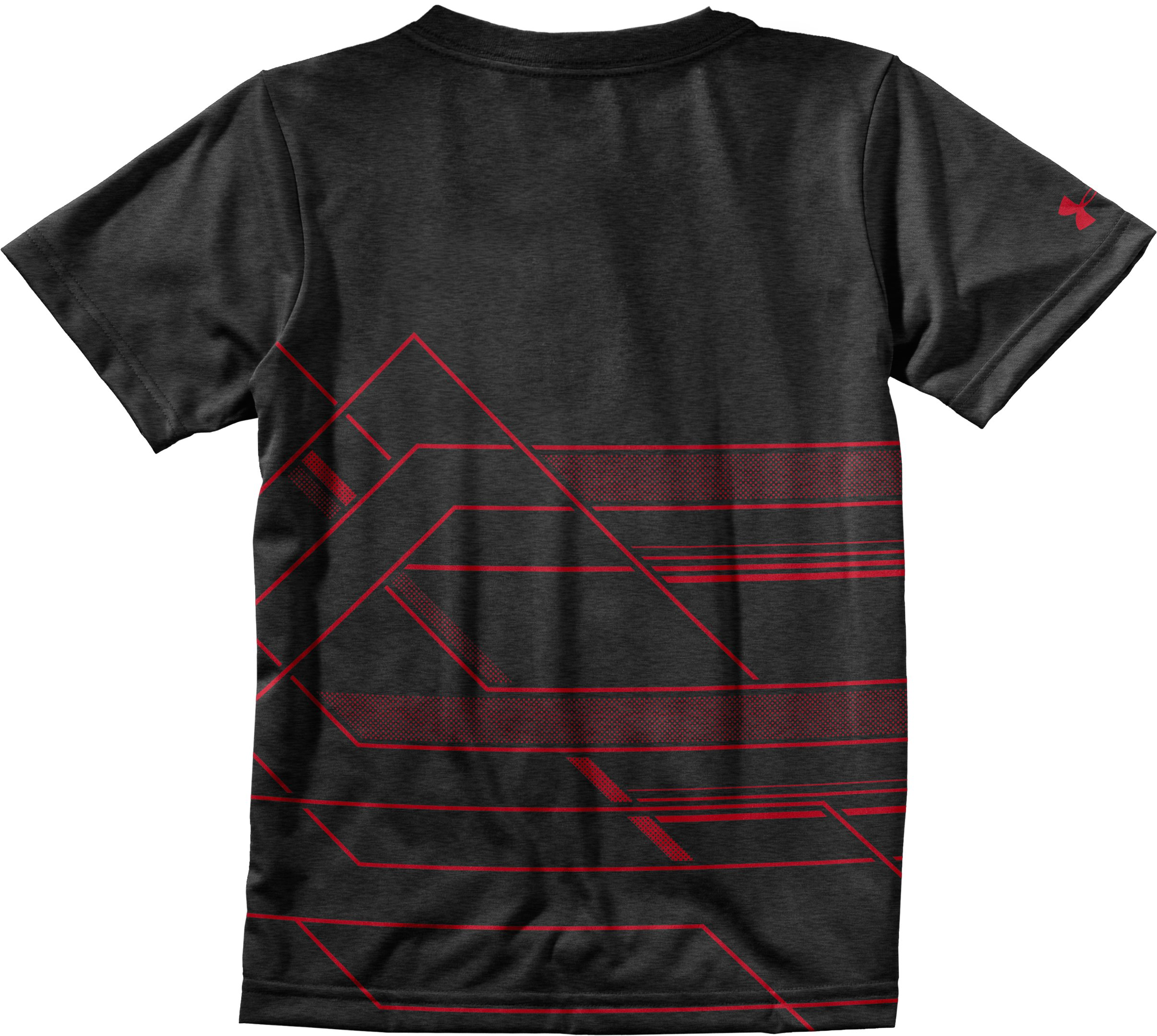 Boys' UA Domineer T-Shirt, Black