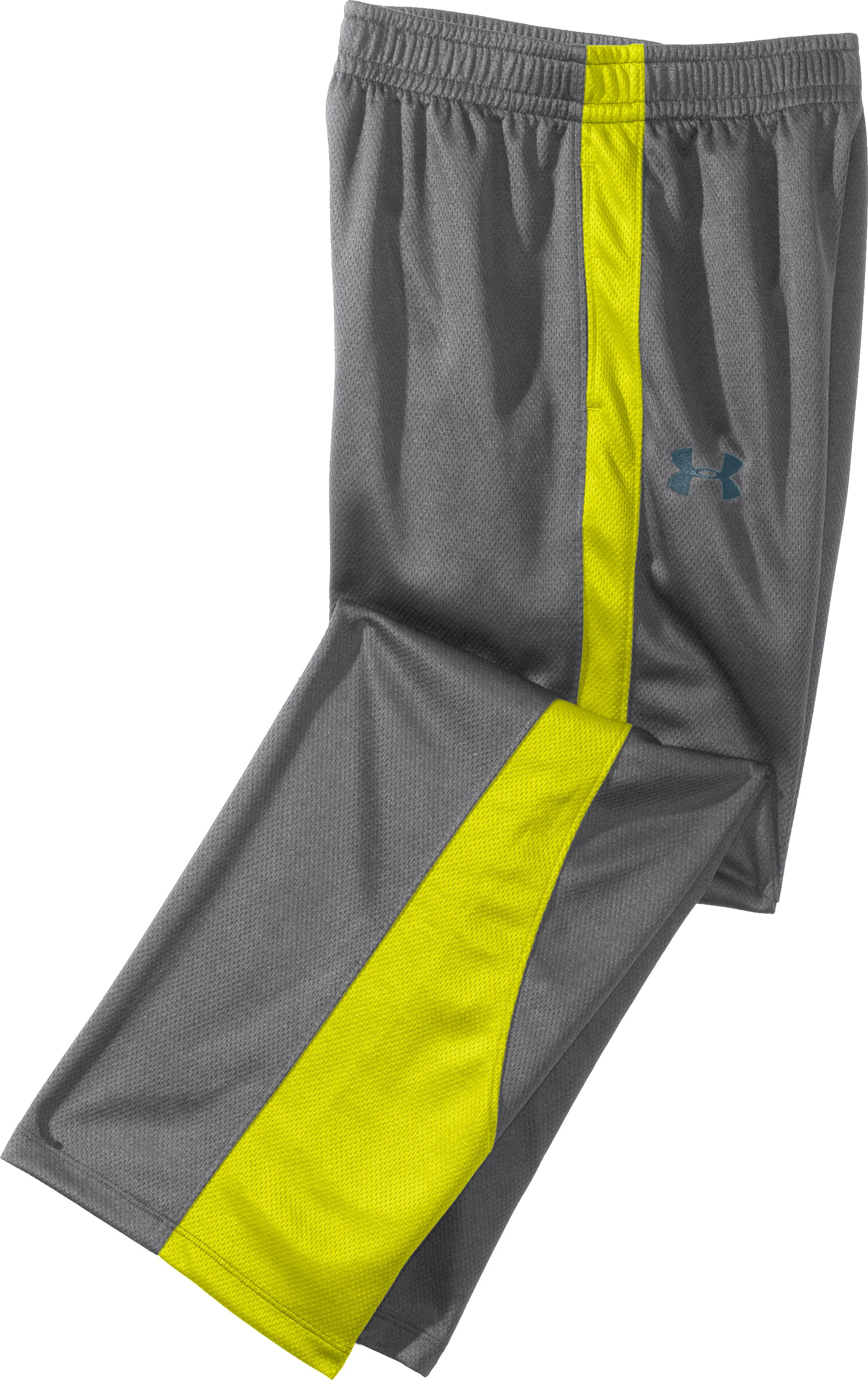 Boys' UA Chaos Pants, Graphite