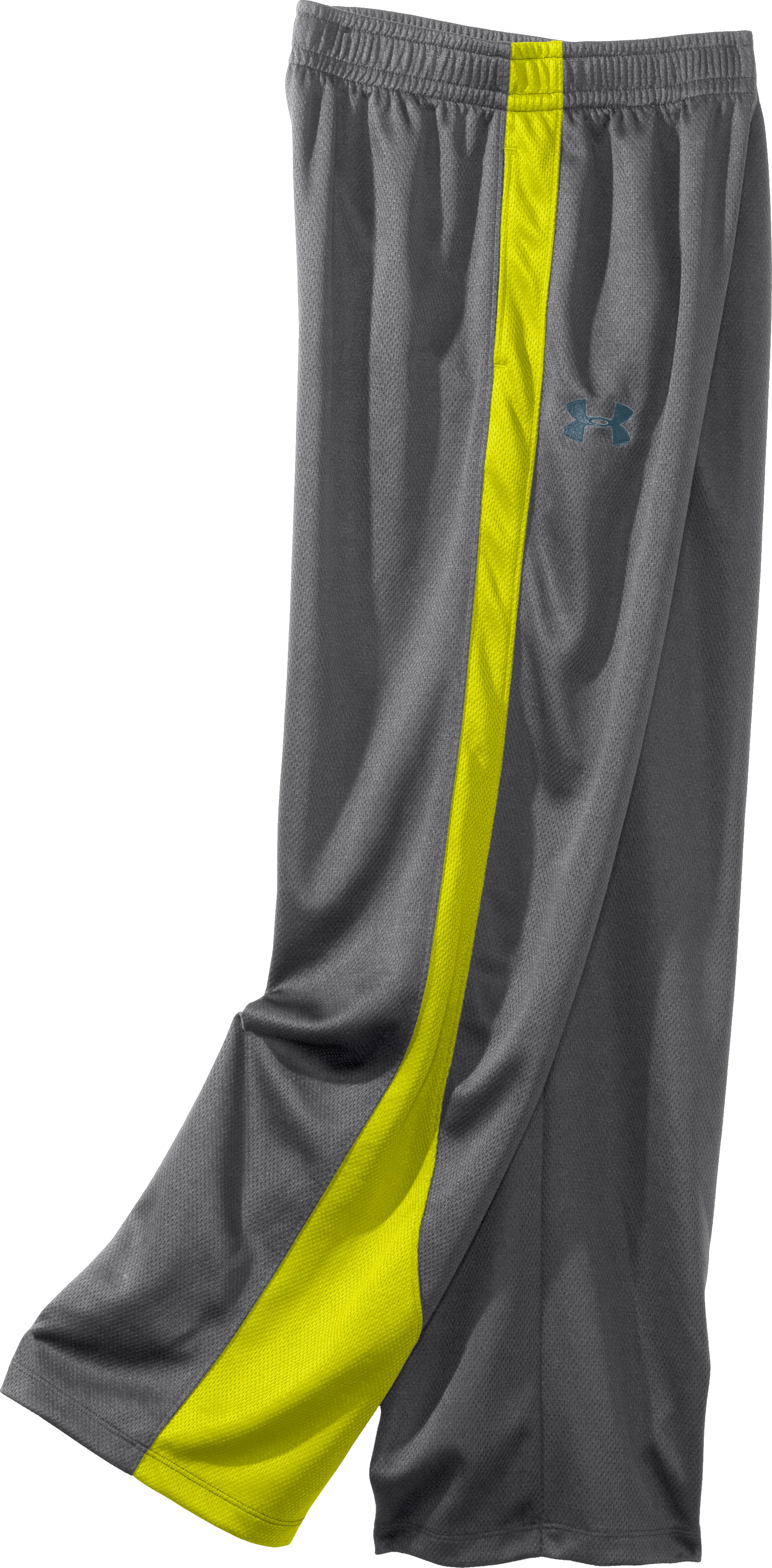 Boys' UA Chaos Pants, Graphite, undefined