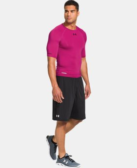 Men's HeatGear® Sonic Compression Half Sleeve