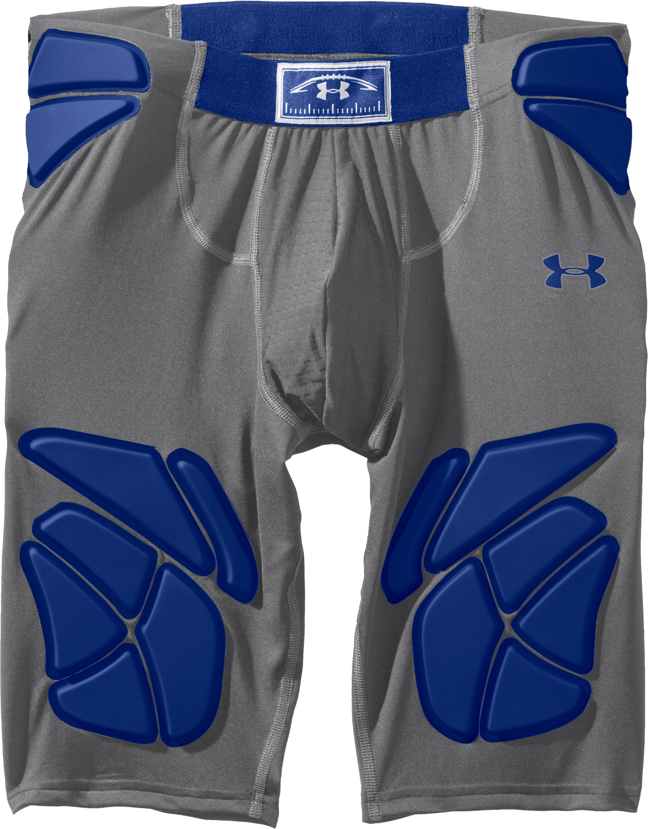Men's Gameday Armour® Girdle, Graphite, Laydown