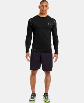 Men's HeatGear® Sonic Fitted Long Sleeve