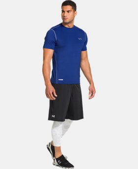 Men's HeatGear® Sonic Fitted Short Sleeve  1 Color $14.99