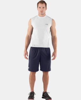 Men's HeatGear® Sonic Fitted Sleeveless