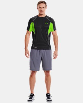 Men's HeatGear® Flyweight Fitted Short Sleeve  1 Color $23.99